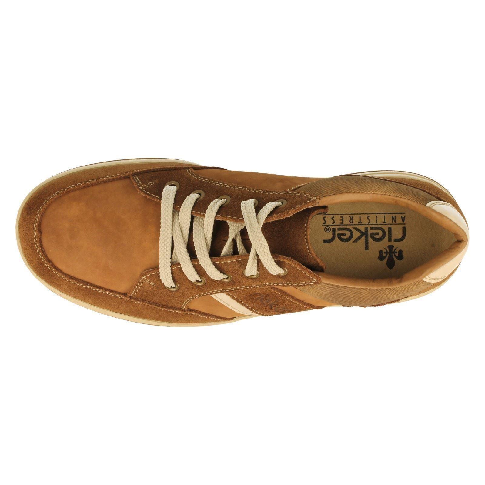 Label Uomo Rieker Caual Schuhes Label  17312-W 013e1a