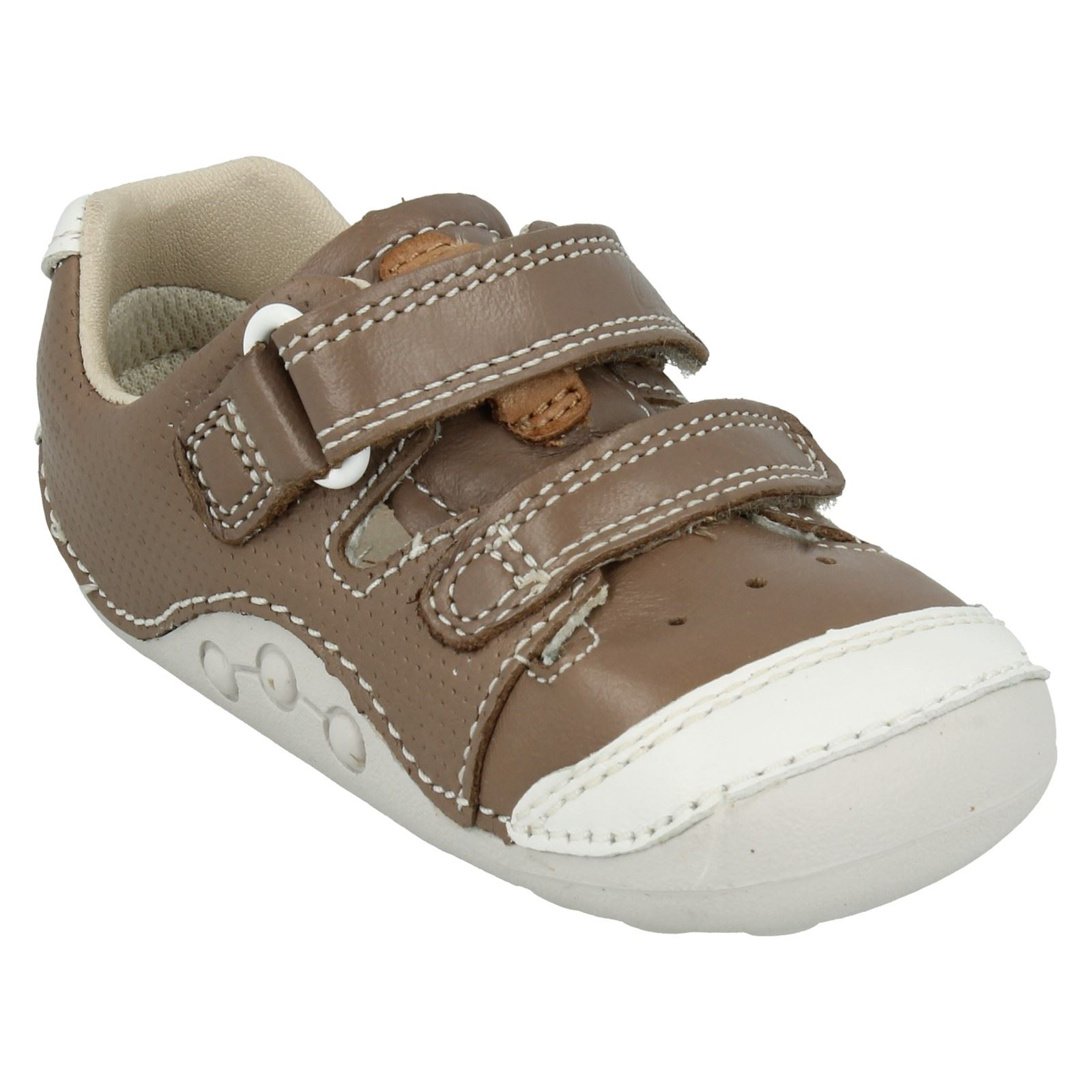 Boys Clarks First Shoes Label Tiny Boy