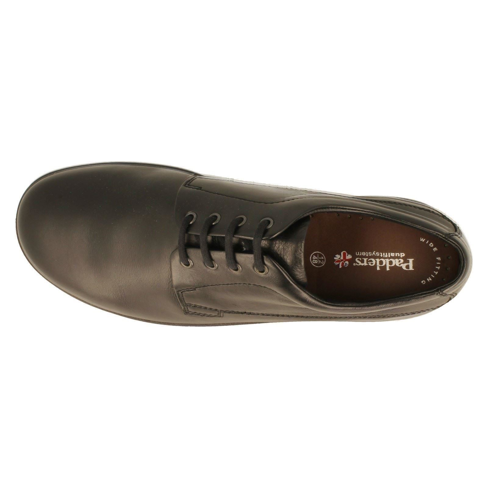 Mens Padders Lace Up Shoes G/H Fit The Style Lunar-W