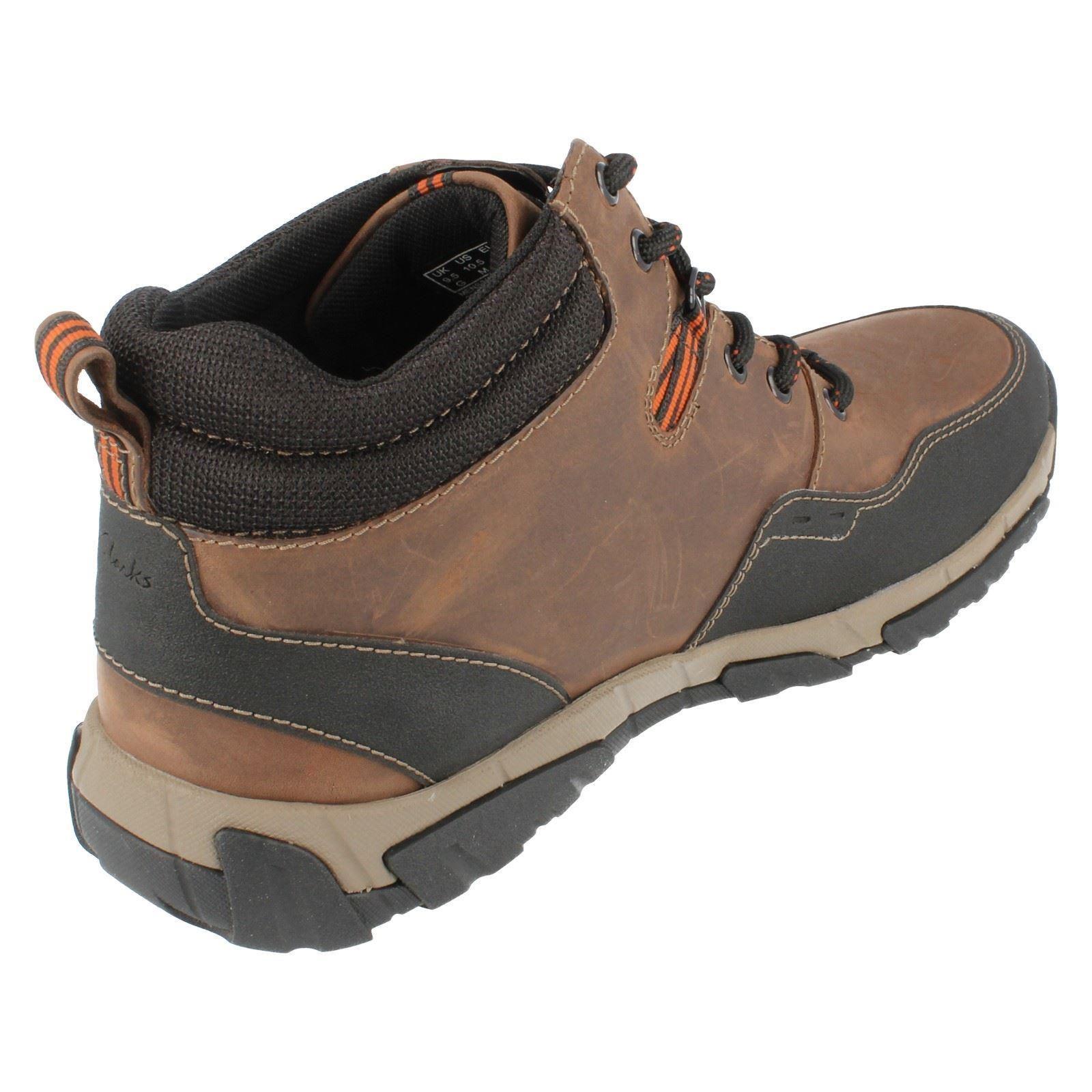 Mens Clarks Waterproof Boots Walbeck Top ~ N