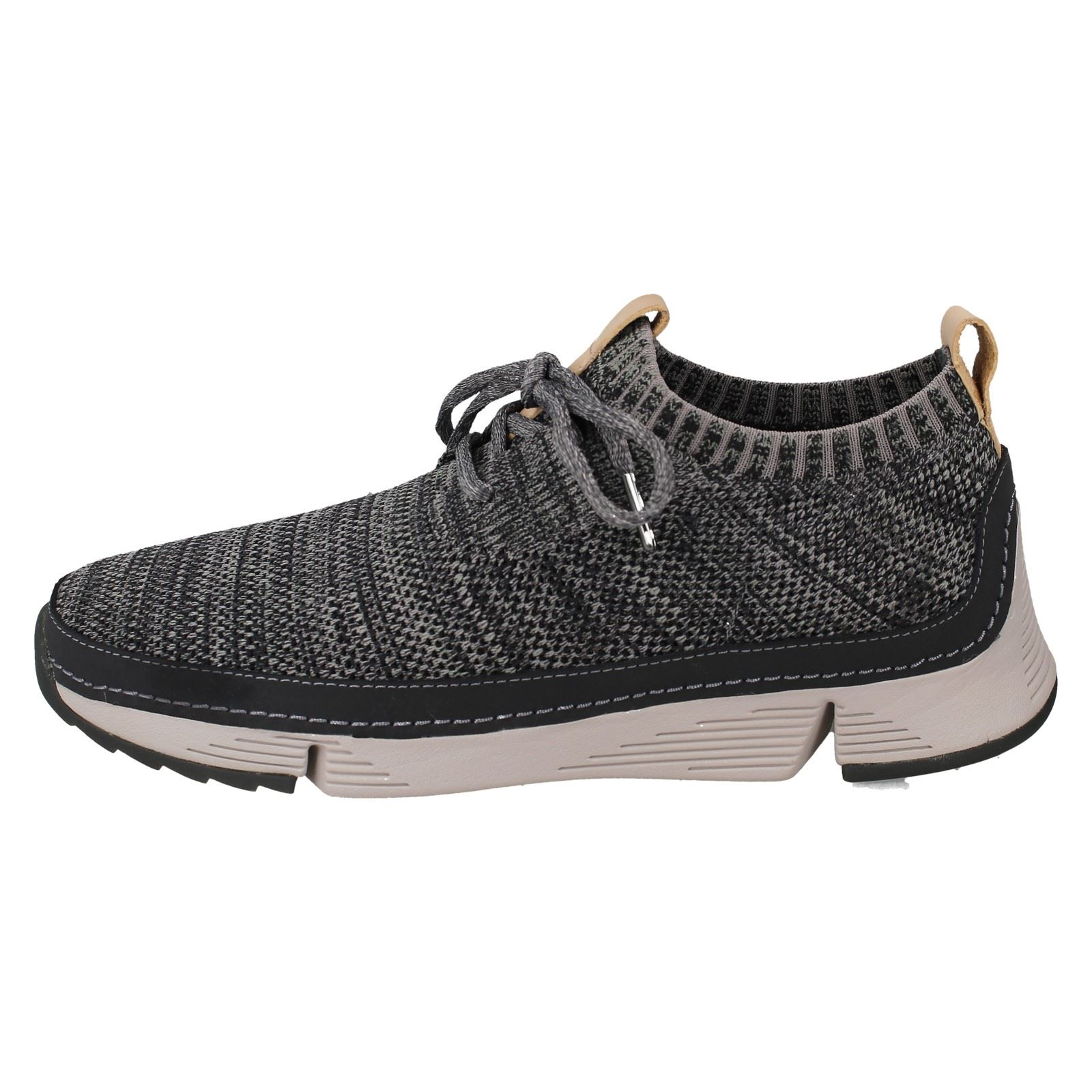 Herren Clarks Casual Sports Lace Up Sports Casual Schuhes Tri Native debeb2