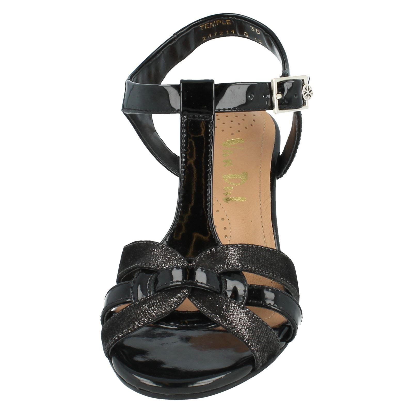 Vandal Sandals Wedge Patent Style Black 2472110 Ladies stardust Temple 4Spw4d