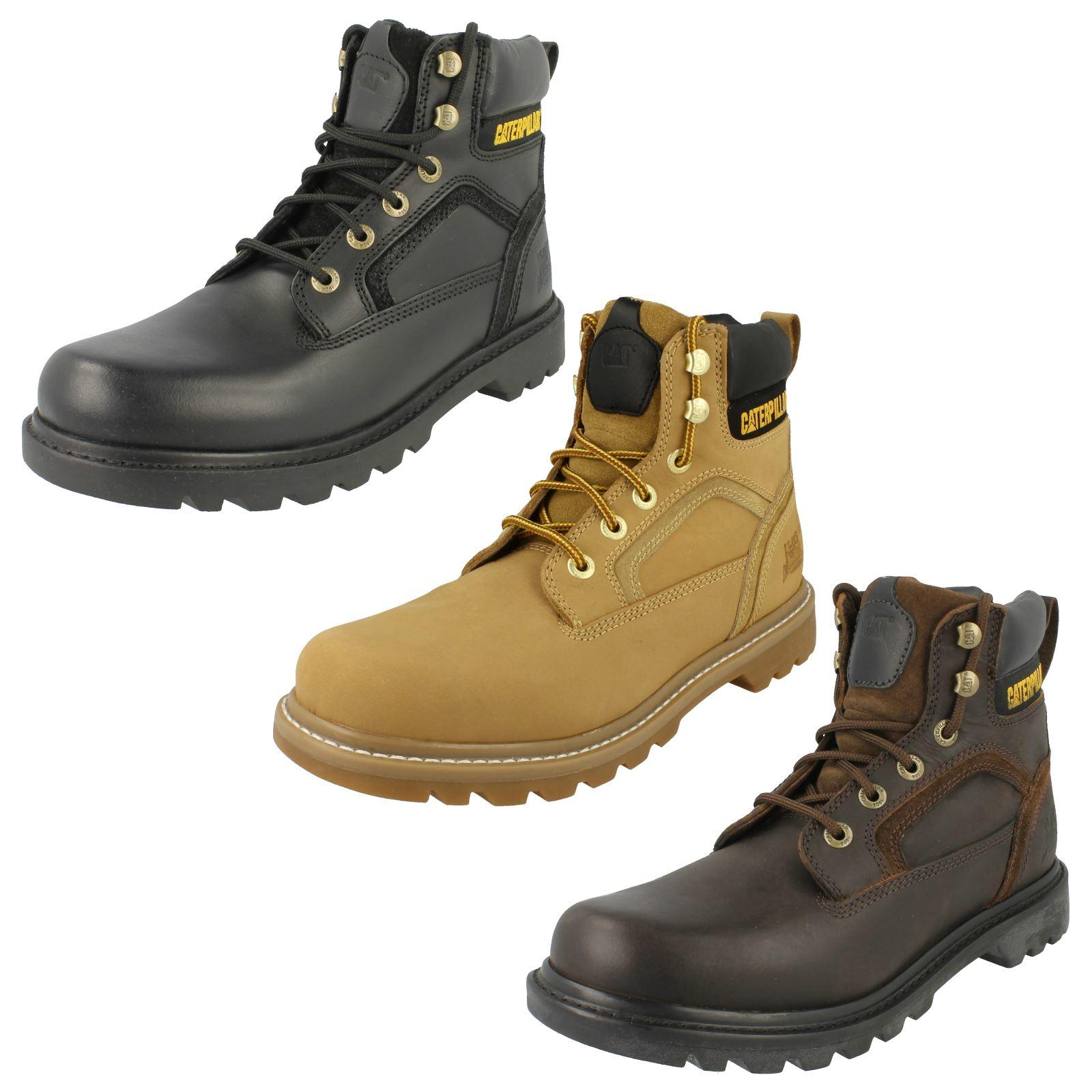 Mens Caterpillar Boots Style - Stickshift