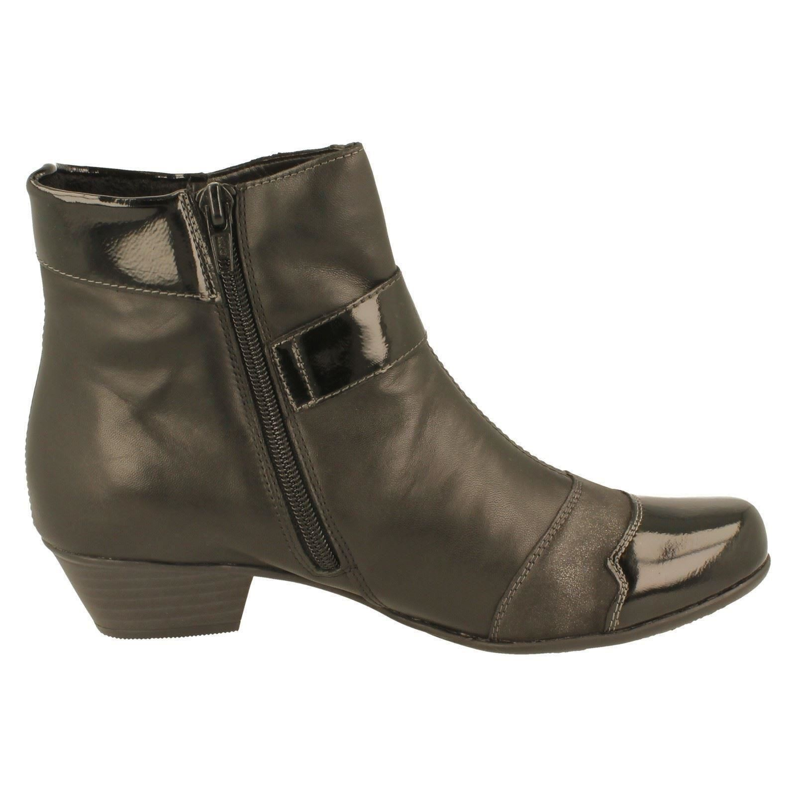 Femmes remonte bottes étiquette étiquette étiquette D7394-W 710900