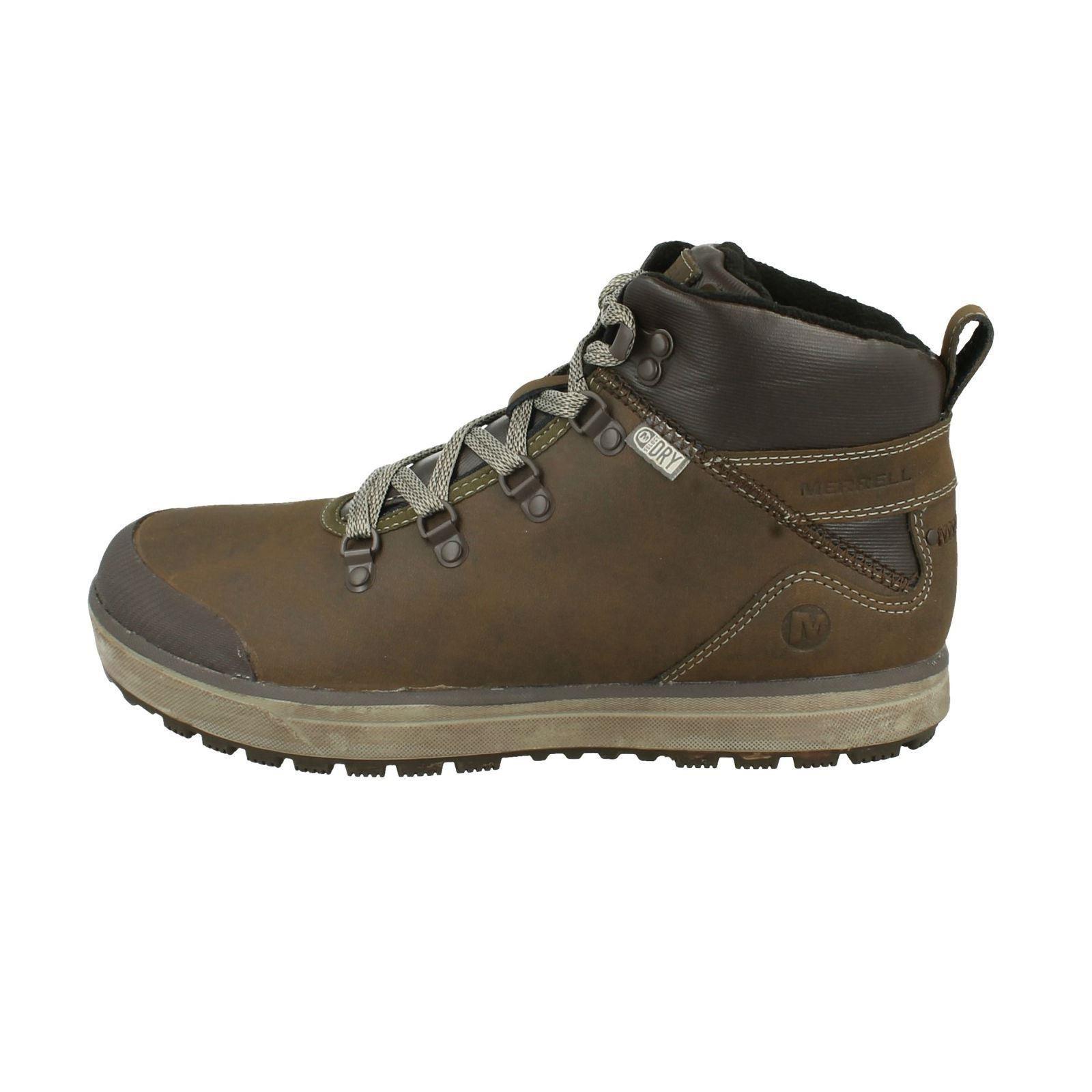 Mens Hiking Merrell Turku Trek Waterproof Mid Hiking Mens Walking Boots- Style J23627 a40521