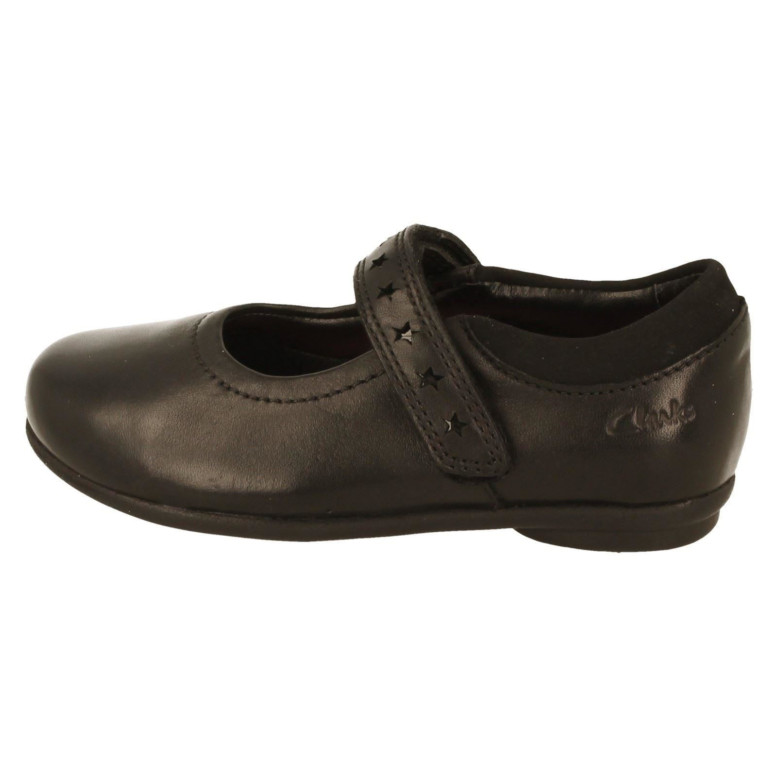 Girls Clarks School Shoes The Style Daisy Leap -W