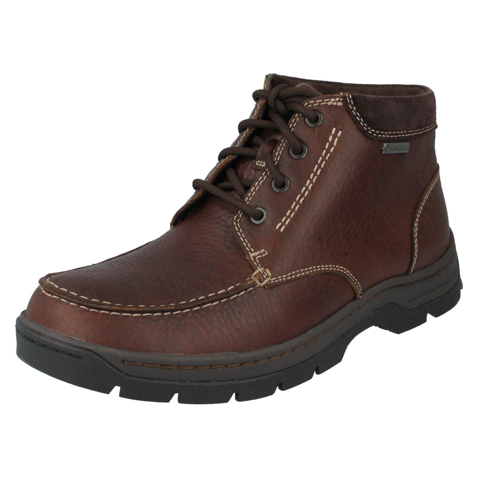 Men's Clarks Casual Boots GTX Style - Stanten Time GTX Boots a58757