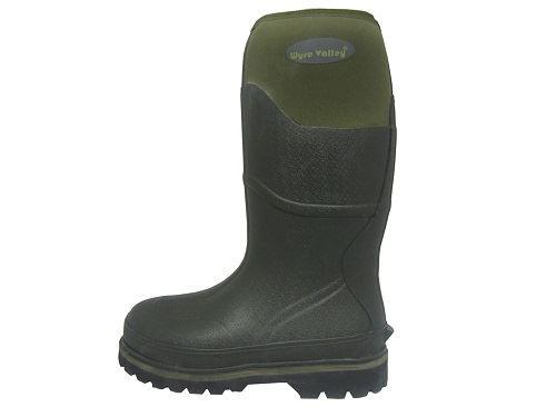 Valley Neoprene 'trent' ~ Boots Wyre Adults Green Muck K 5xZPwZ1