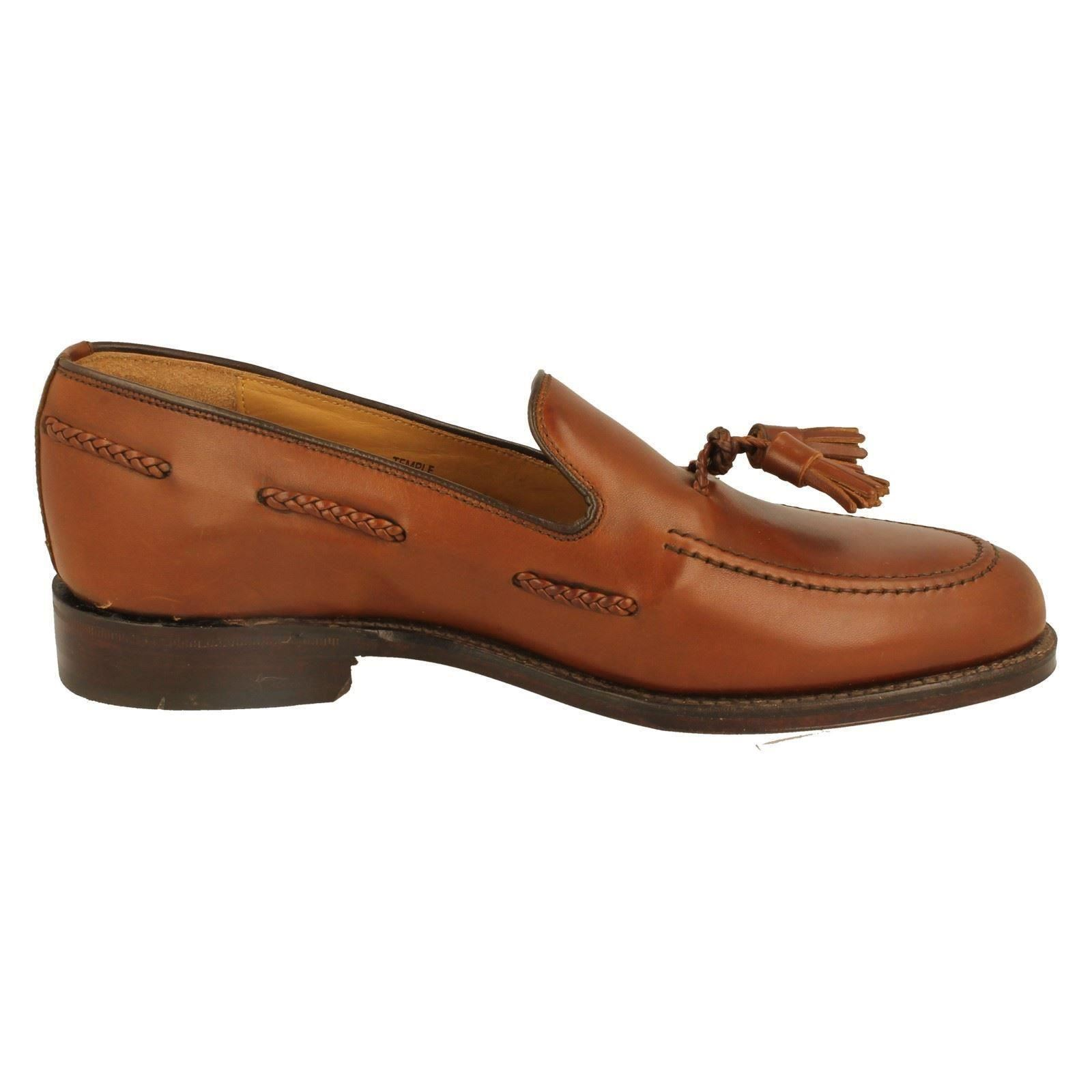 Mens Temple Loake Formal Loafers Style Temple Mens -w 0bd08d