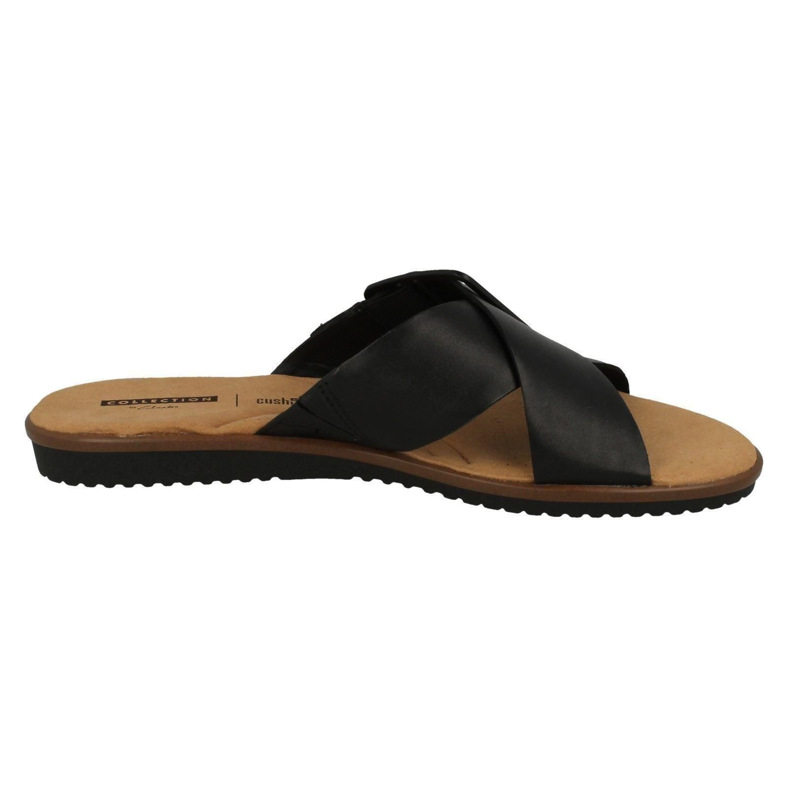 d3a1d961351 Clarks Kele Heather - Black Leather Womens Sandals 6 UK. About this  product. Picture 1 of 9  Picture 2 of 9  Picture 3 of 9 ...
