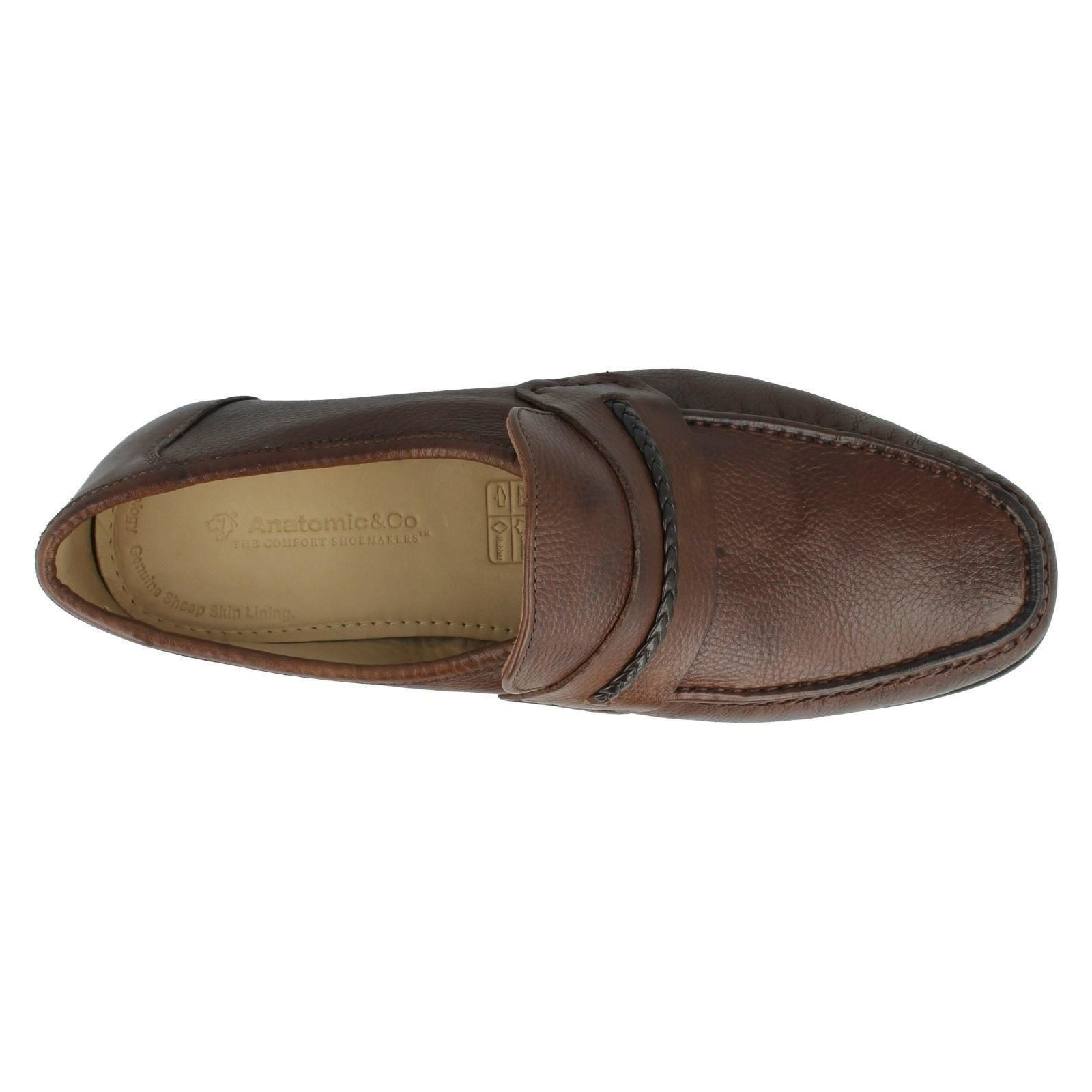 Co Herren Anatomic & Co  Leder Moccasin Loafers Gaspar 630e4e