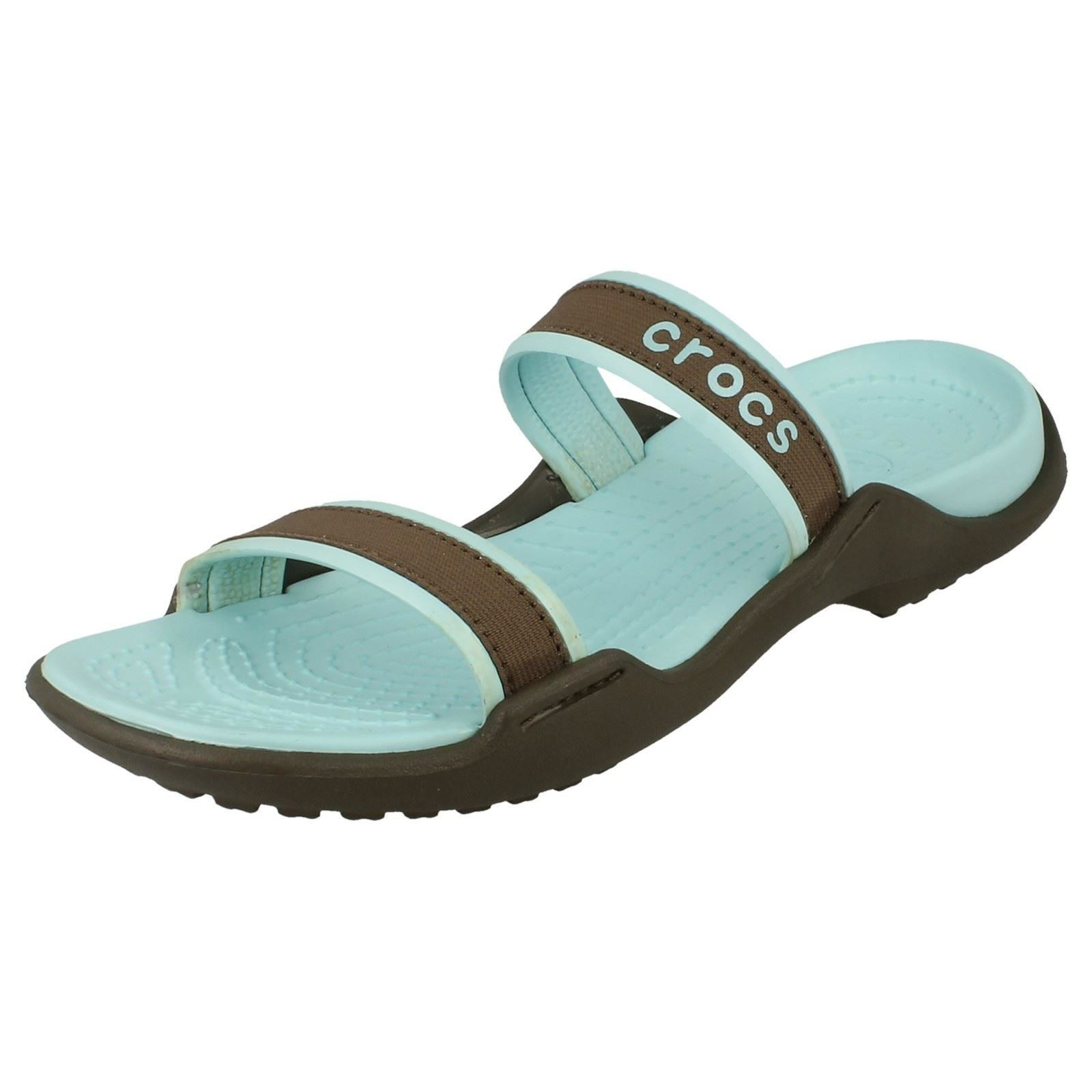 Ladies Crocs Slip On Summer Sandals 'Patra' ~ K | eBay - photo#42
