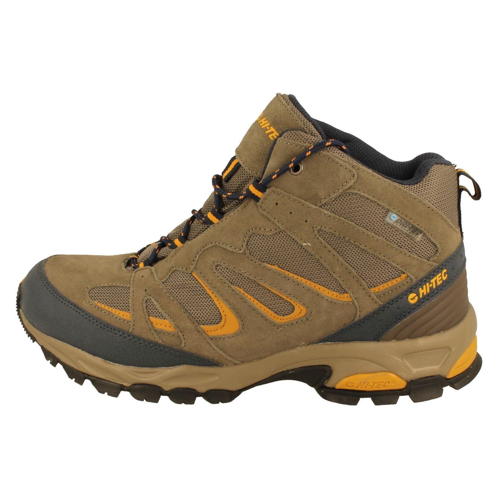 mens hi tec walking boots the style fusion sport mid wp w