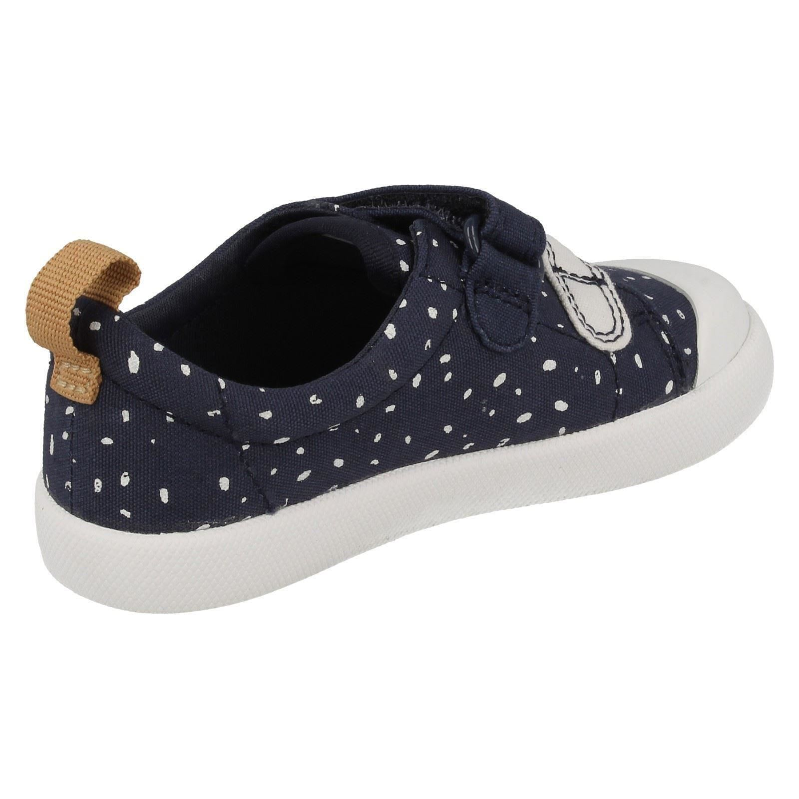Girls Clarks Doodles First Shoes Halcy Hati