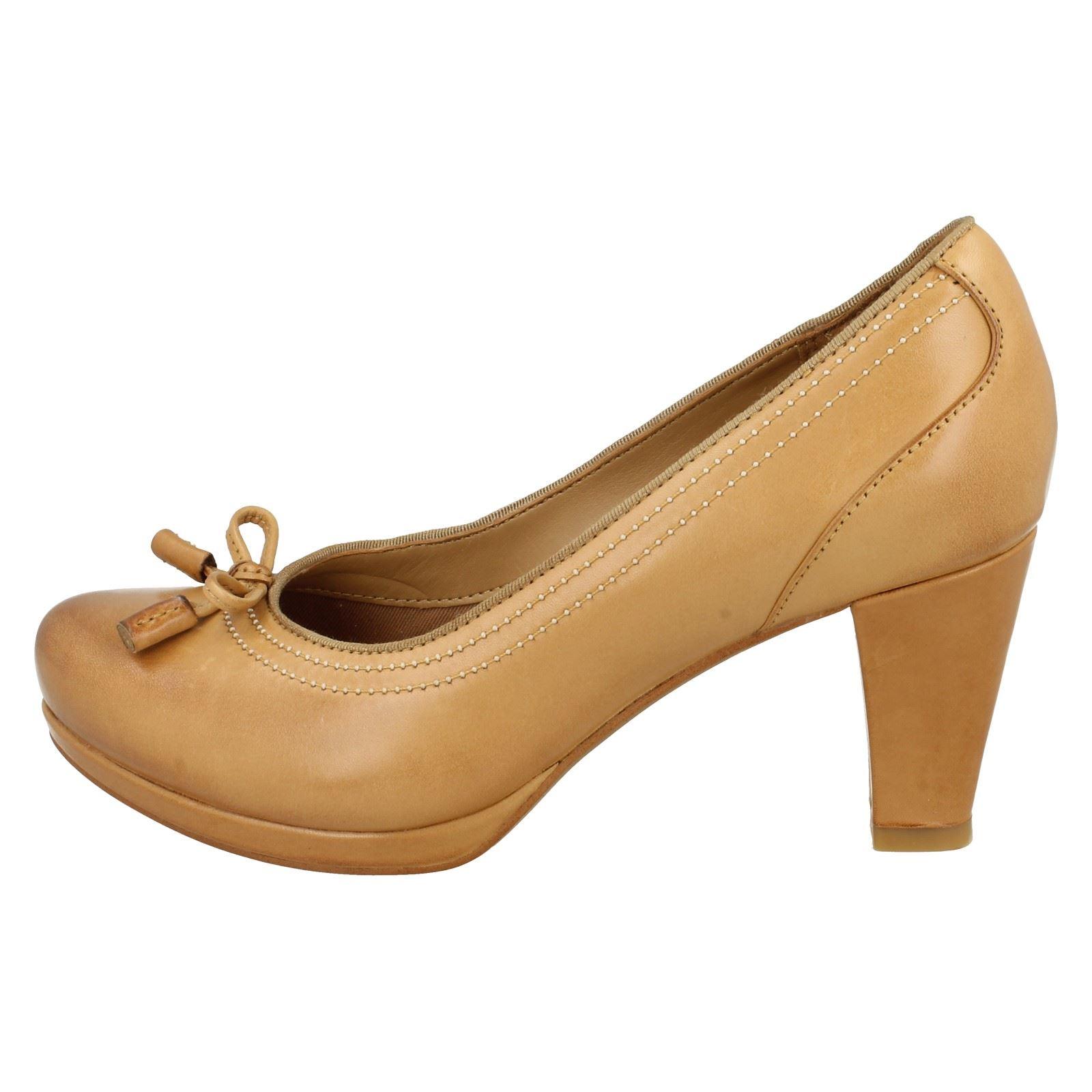 Ladies Tan Court Shoes Uk