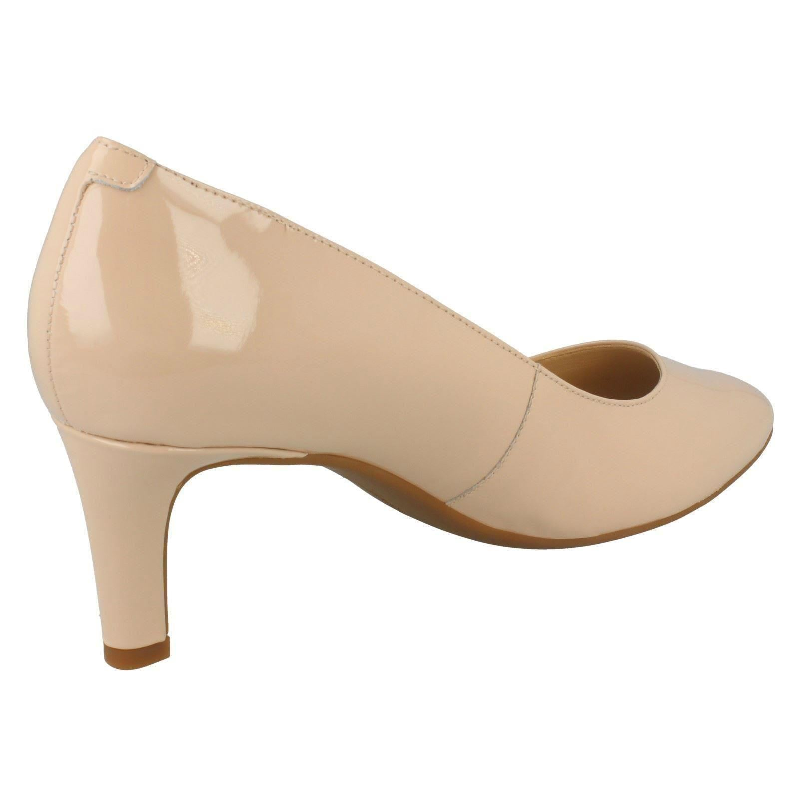 785477d2a92f84 ... mesdames clarks glisse sur cour cour cour chaussures calla rose |  Merveilleux 11f7c7 ...