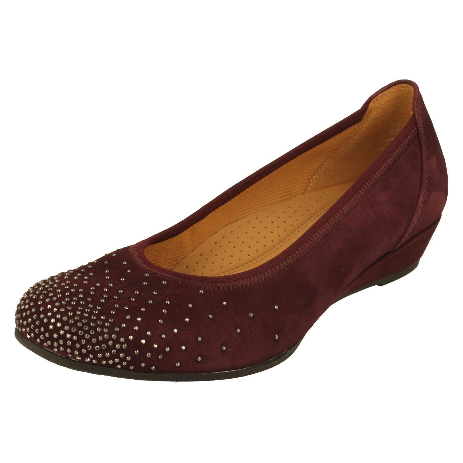 w 92694 New Label Merlot Ladies burgundy Gabor Shoes q1w7xxtI6