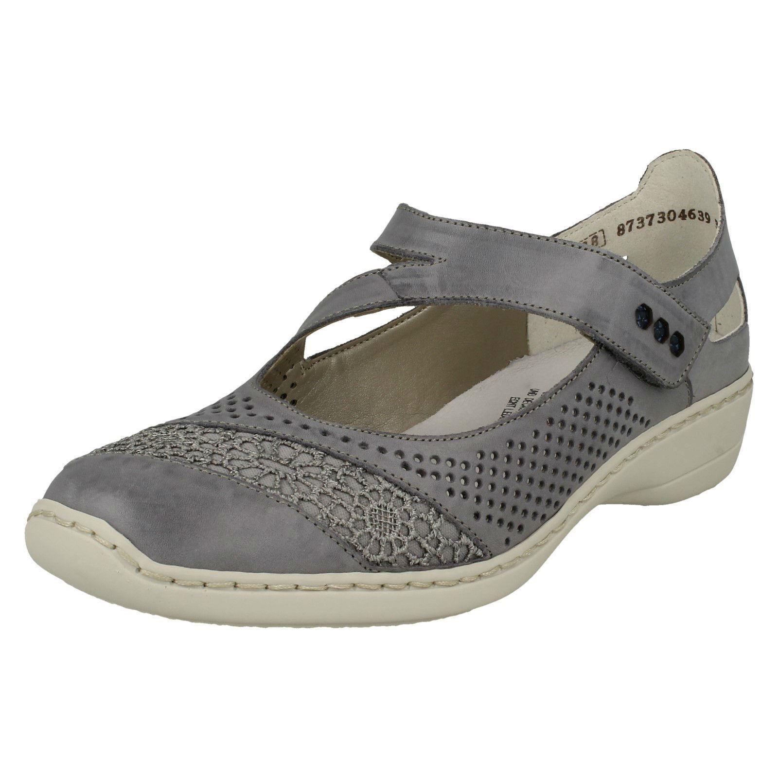 Damas Zapatos Rieker Informal Zapatos Damas Etiqueta 41-346 413bad