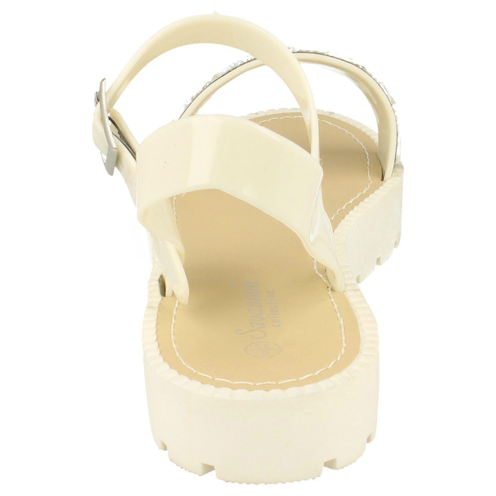 Sandalias de verano señoras Savannah Plataforma F0838 estilo ~ K