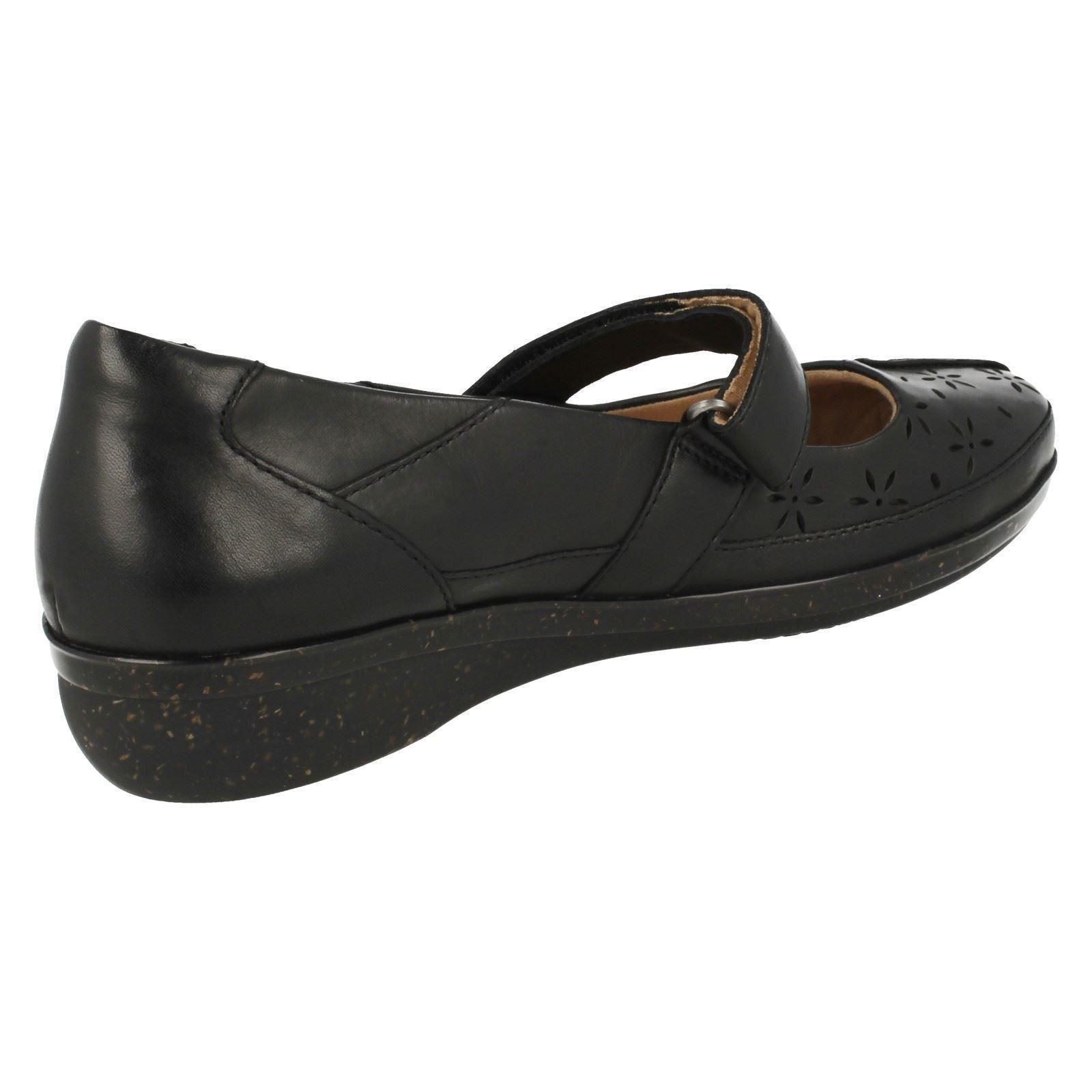 Damas Clarks Zapatos Informales Suave Cojín Estilo-everlay Bai