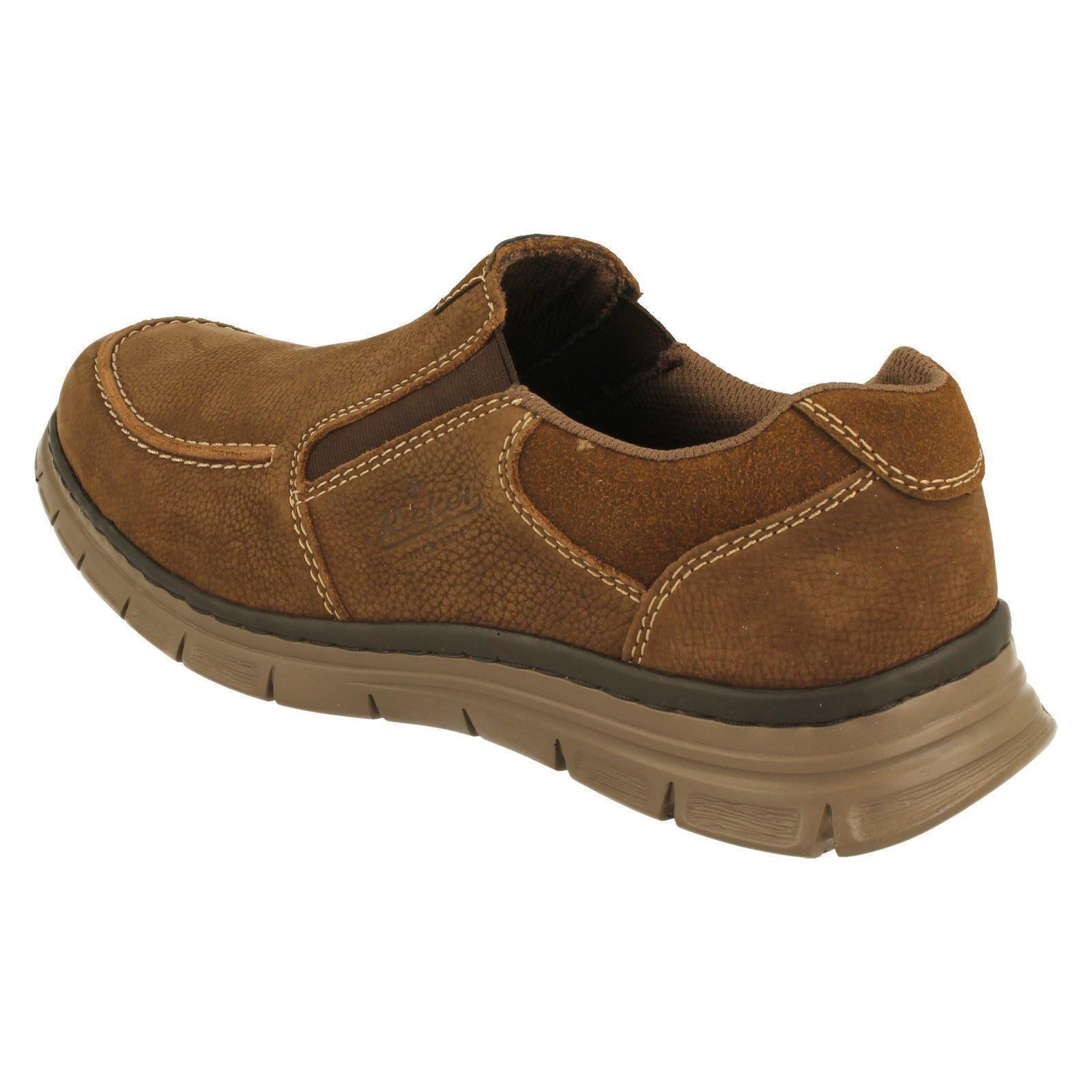 Slip Uomo Rieker Slip  On Schuhes Style B4869-W a8c943