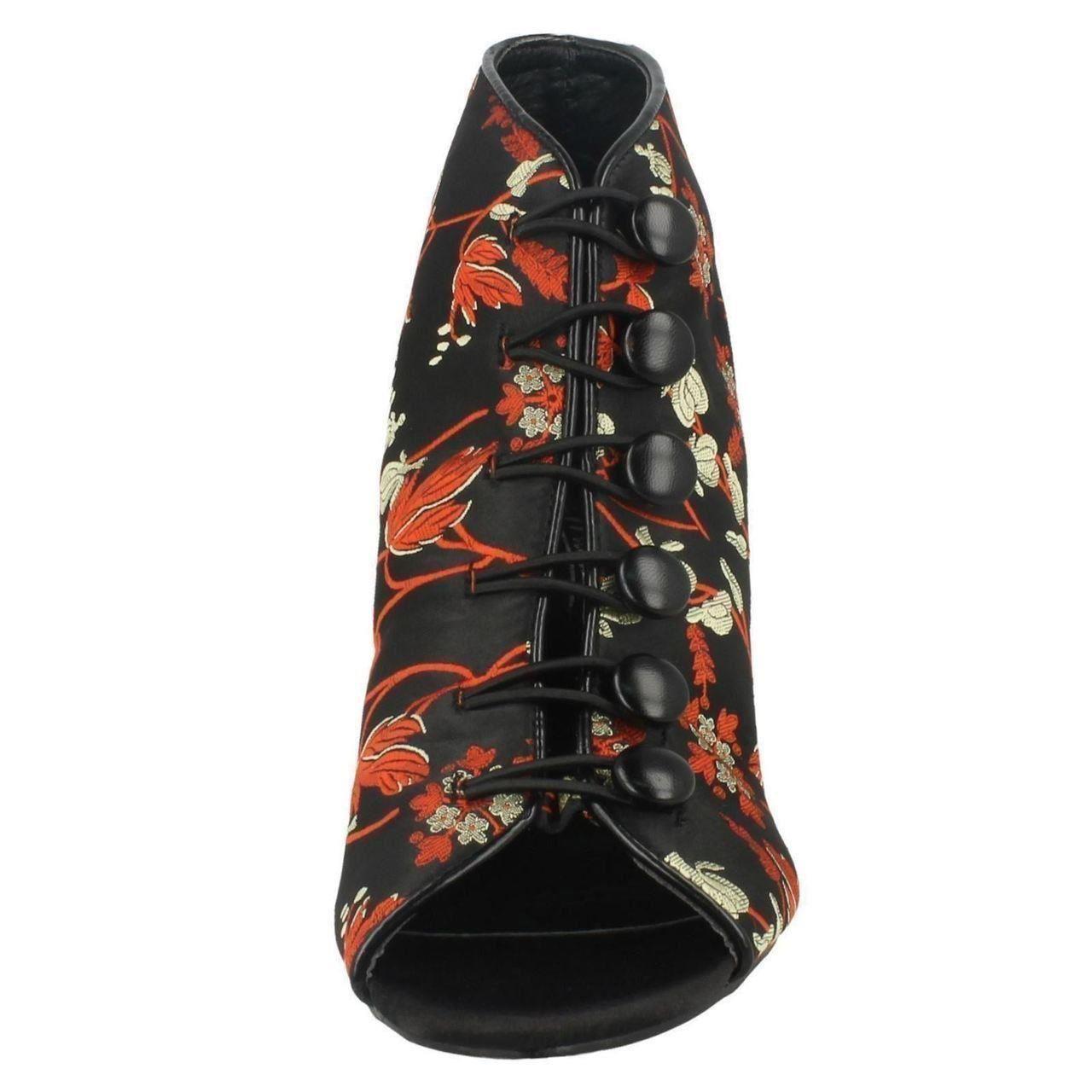 Damas Anne Michelle De Moda Zapatos tribunales F10766 ~ K