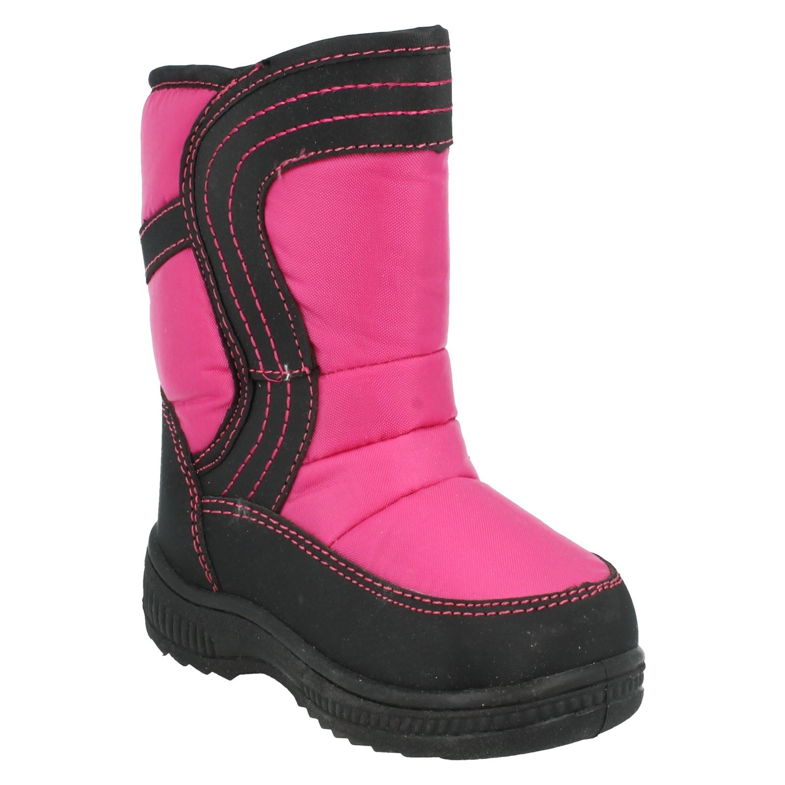 Girls Reflex Snow Boots Label H4072