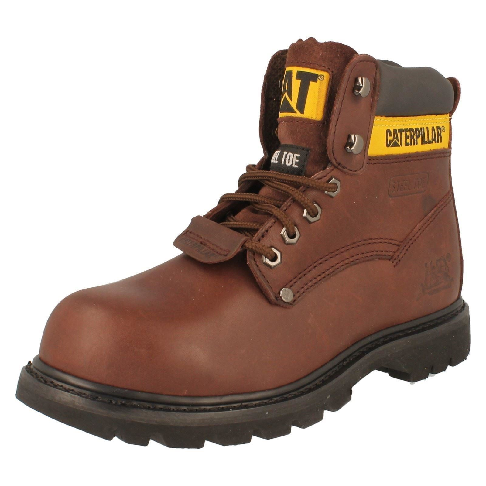 Mens Caterpillar Boots Steel Toe Safety Work Boots Caterpillar Style -  Sheffield 57c09e