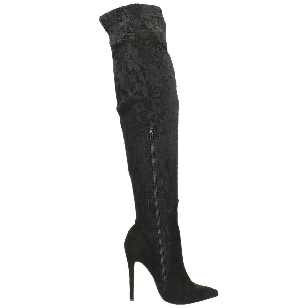 Ladies-Anne-Michelle-Over-The-Knee-High-Boots-Style-F50561