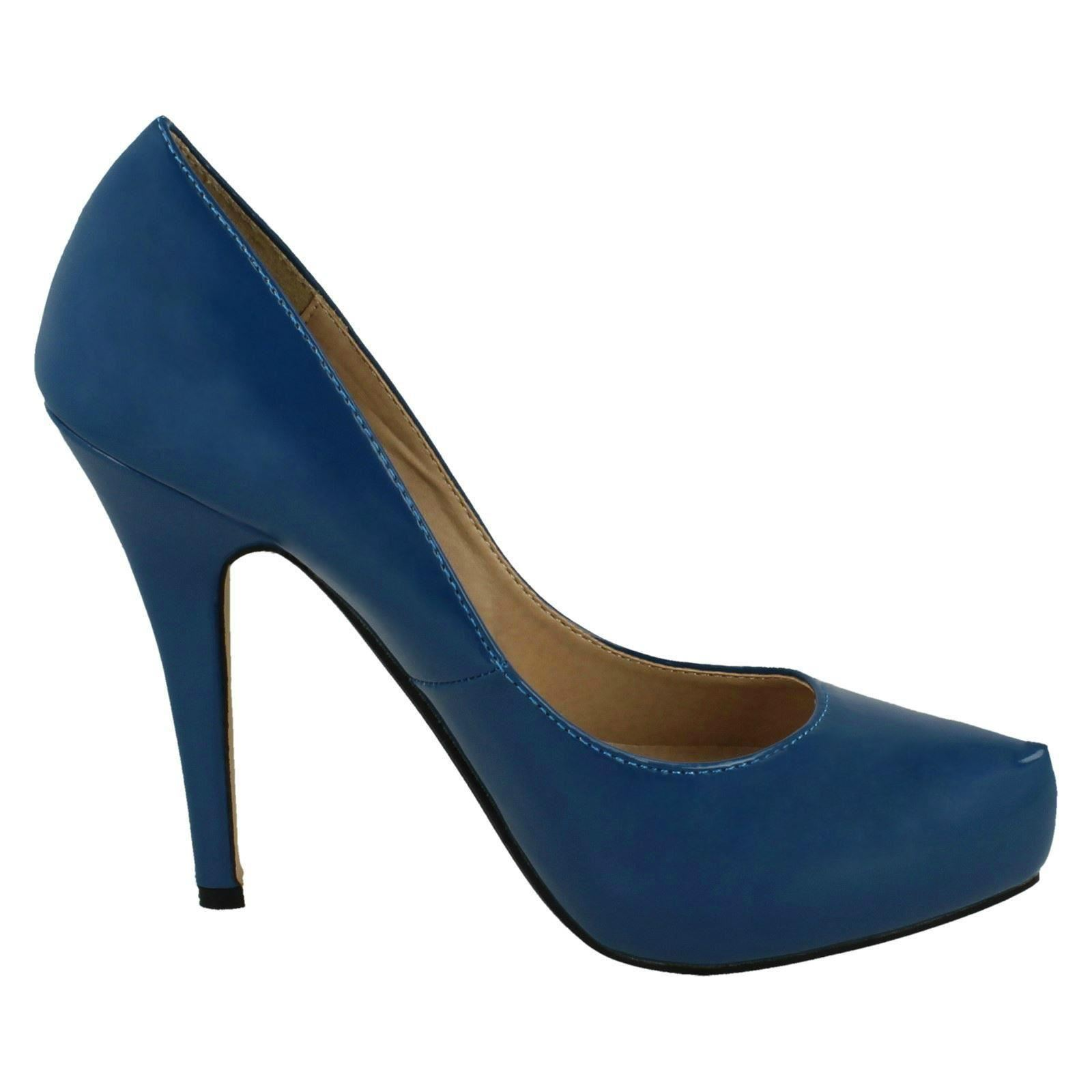 Damas Anne Michelle Zapatos informales Tribunal de Patentes F9775 estilo ~ K