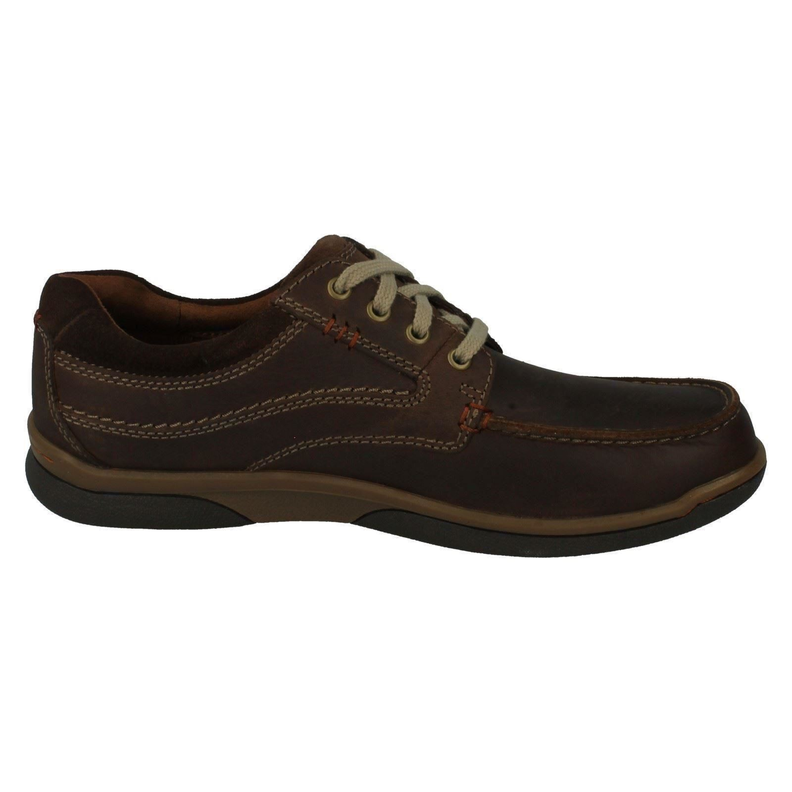 Up The Walk Tobacco Men's Lace Clarks Style Shoes Casual Randle SXqtX4