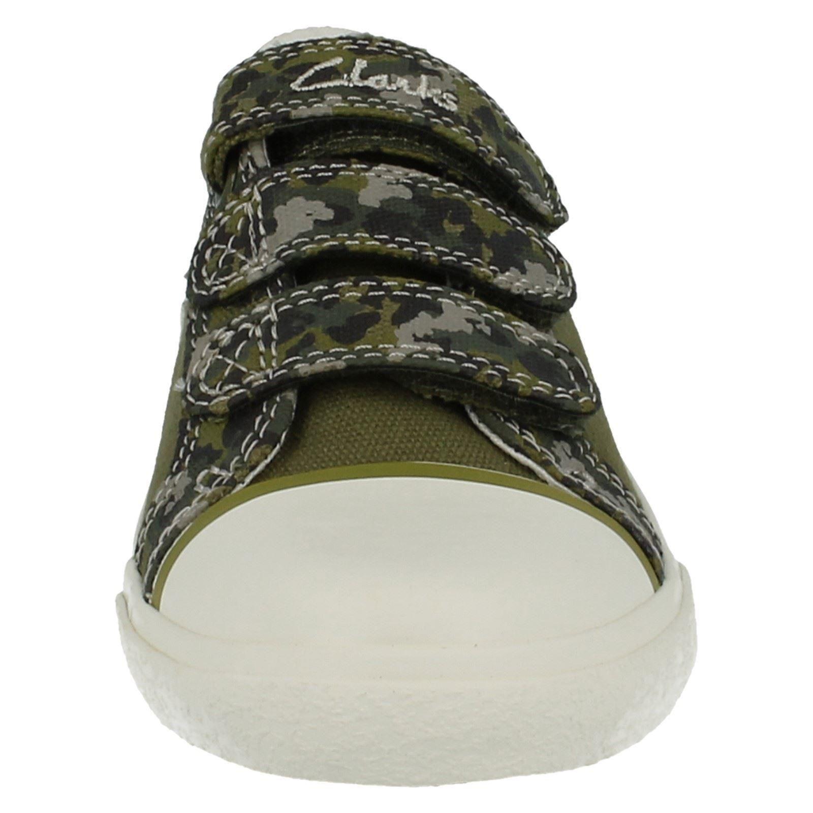 Chicos Clarks Zapatos Estilo-Feliz Chap