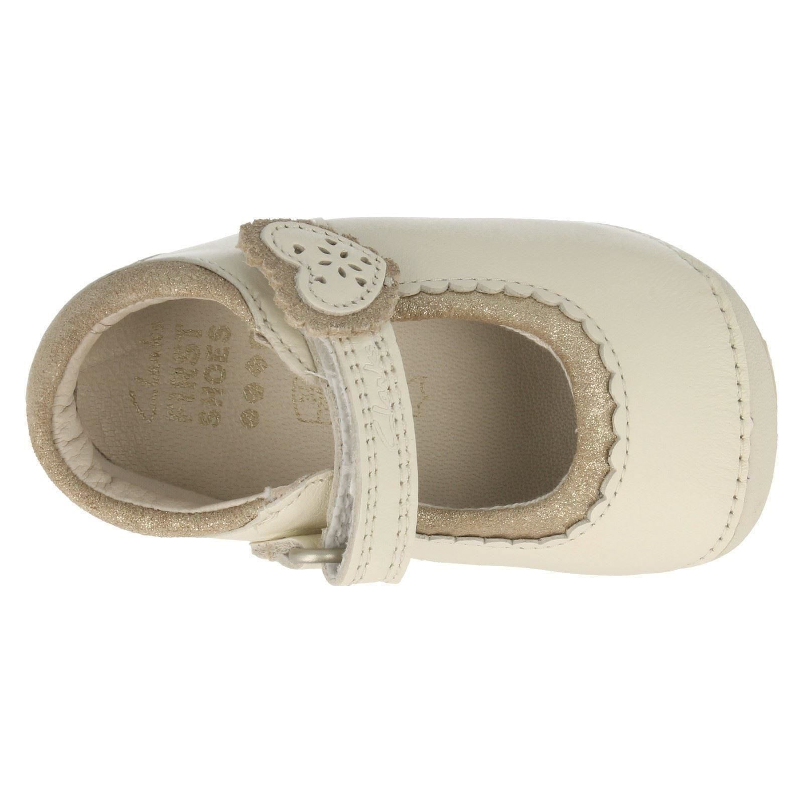 Girls Clarks First Shoes The Style - Ida Heart