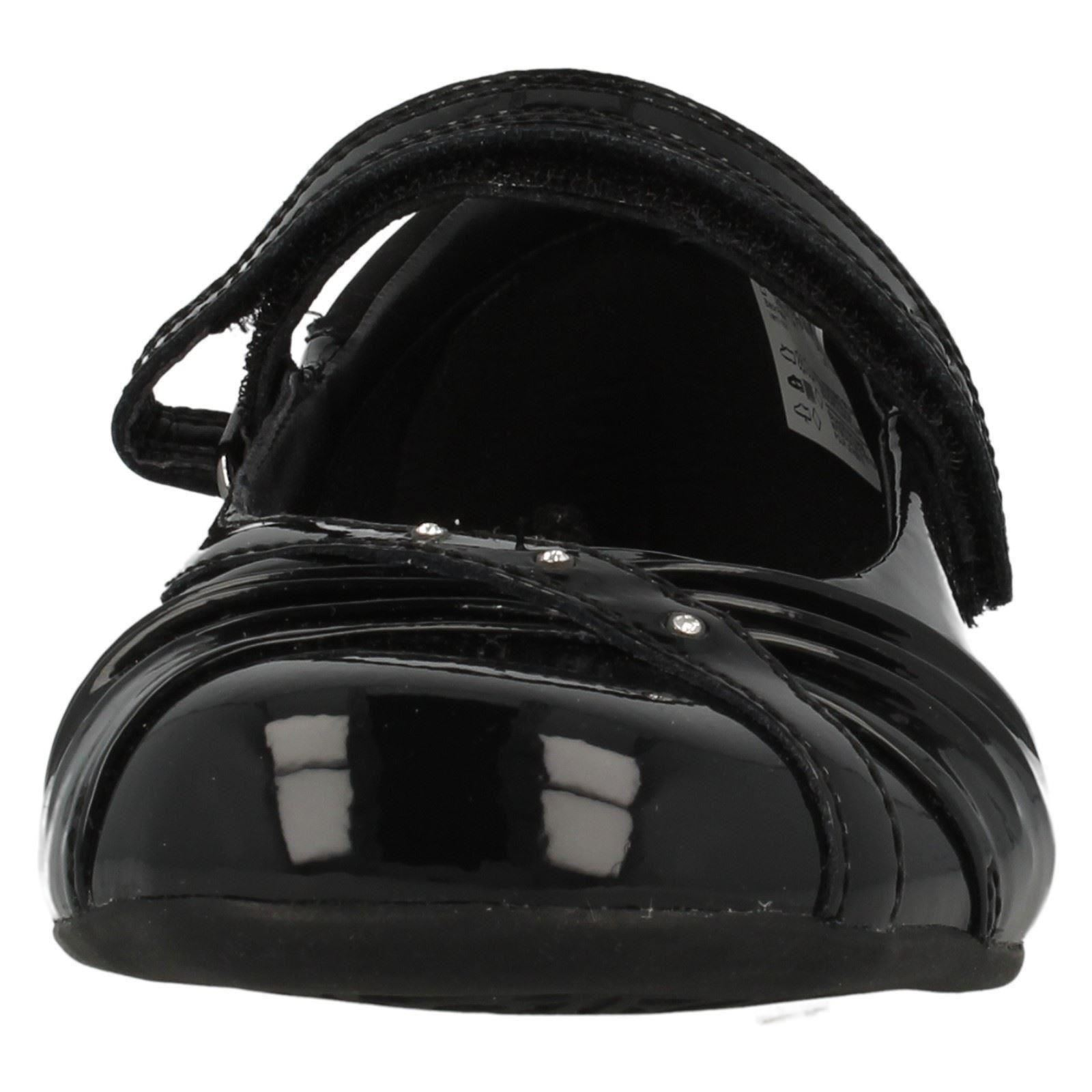 Girls Clarks 'Dolly Shy' School Shoes Label ~ K