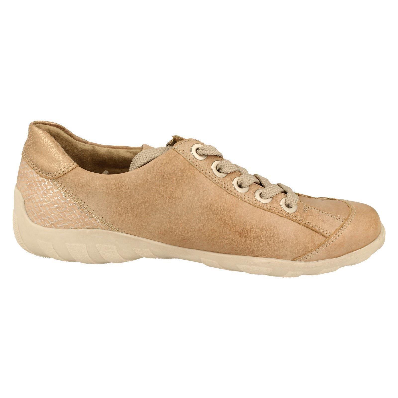 Donna Remonte Lacci Stile Casual Ballerine Stile Lacci r3419-W 7211d6