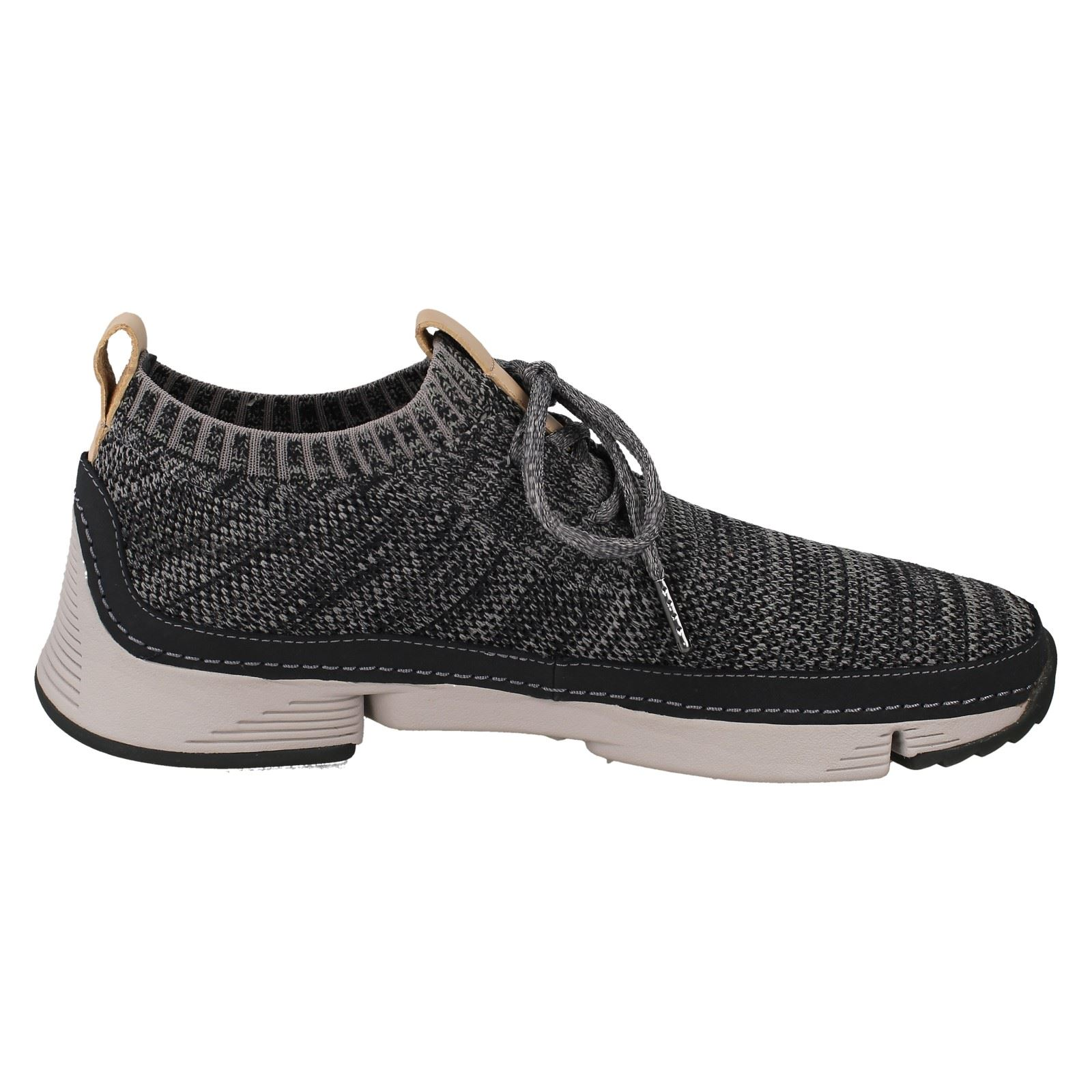 Mens Clarks Casual Lace Up Sports Sports Sports Shoes Tri Native 9d9a12
