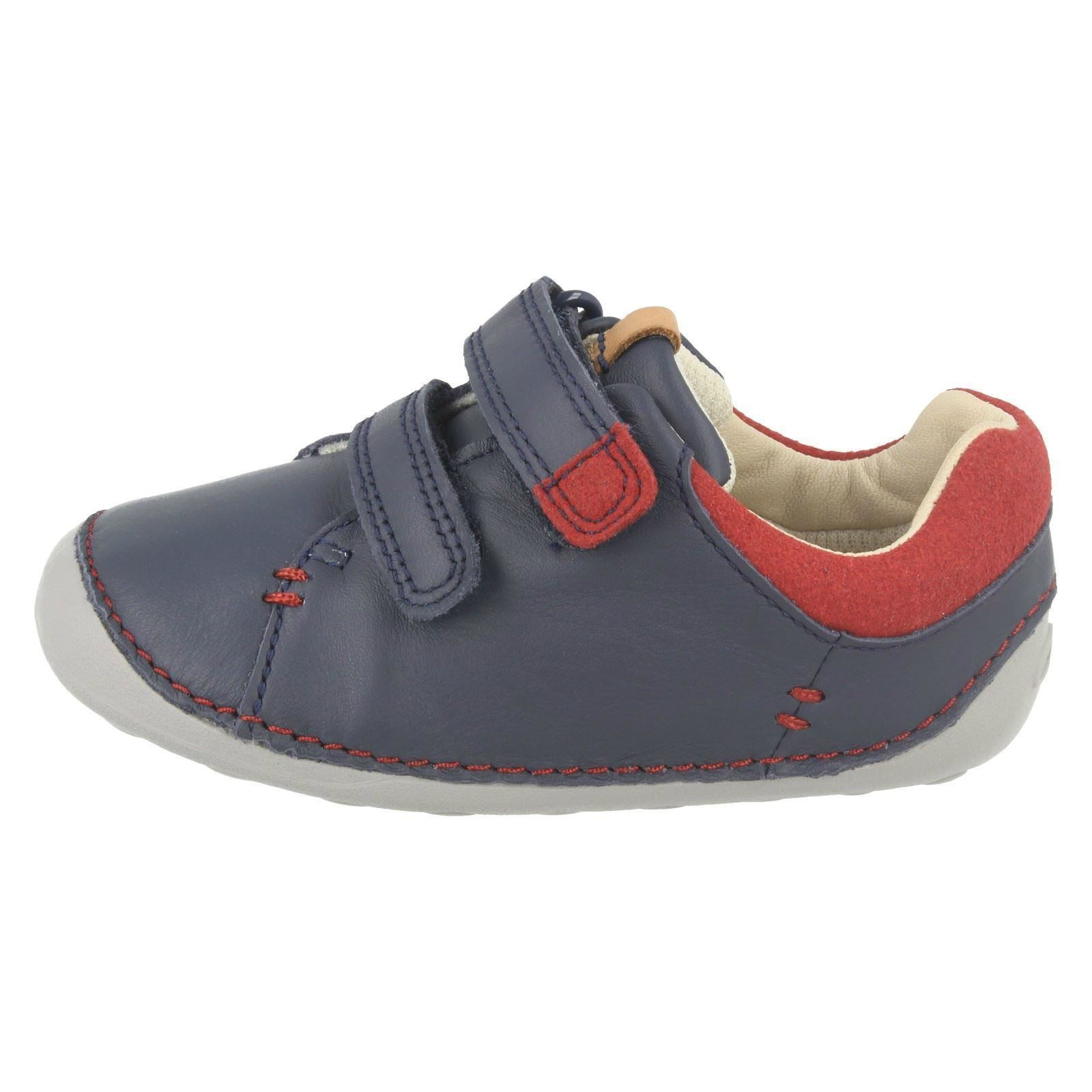 Boys Clarks Toddler Baby Frist Shoes Tiny Toby