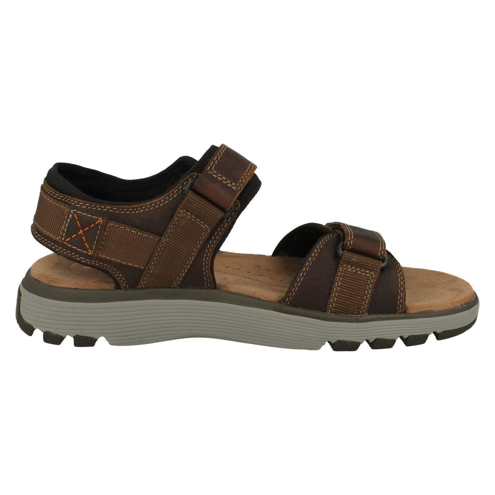 Mens Unstructured by Clarks Trek Casual Sandals Un Trek Clarks Part fb660d