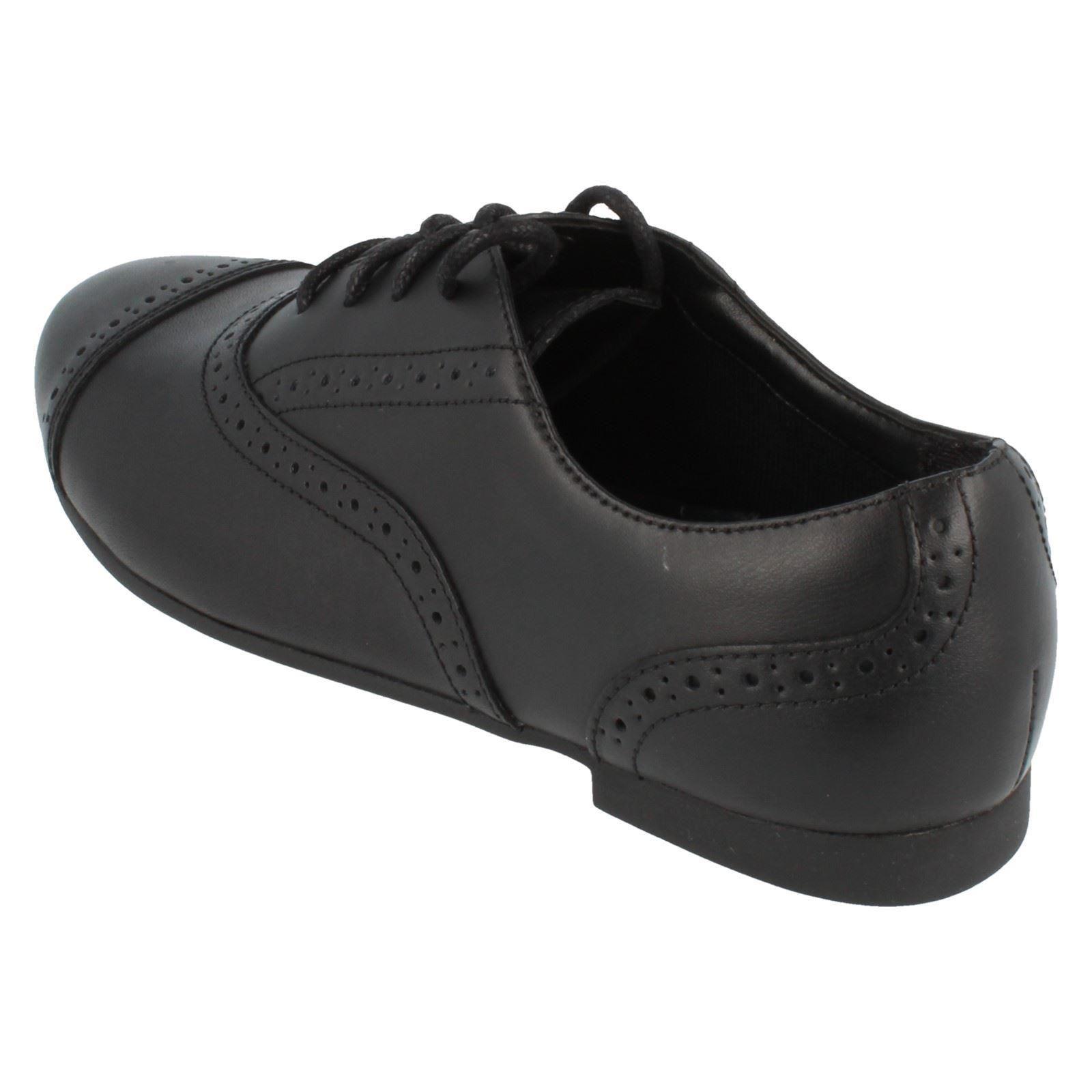 Niñas Bootleg Con Cordones Zapatos Estilo selseycool BL ~ N