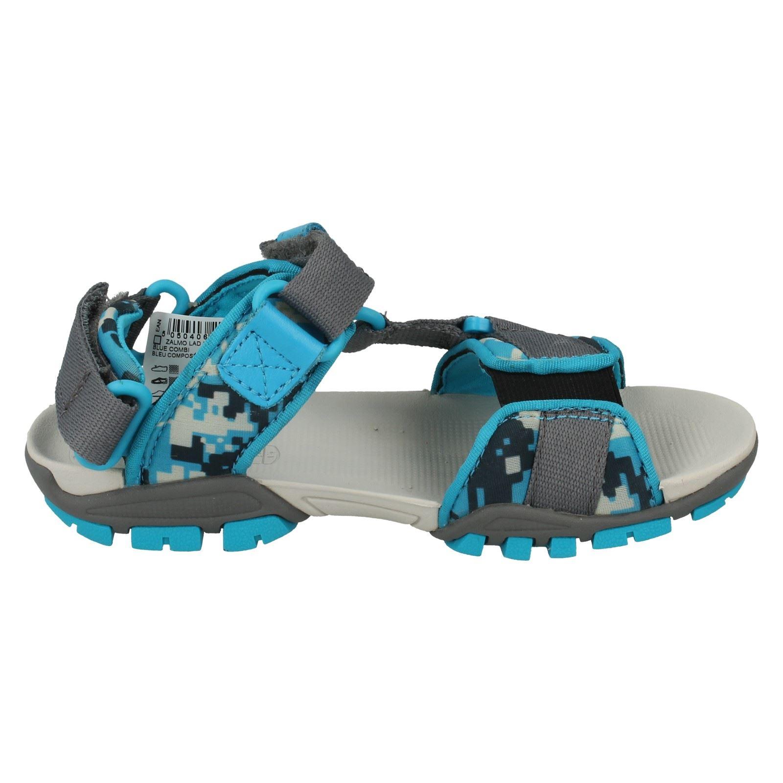 Boys Clarks Sandals Label Zalmo Lad