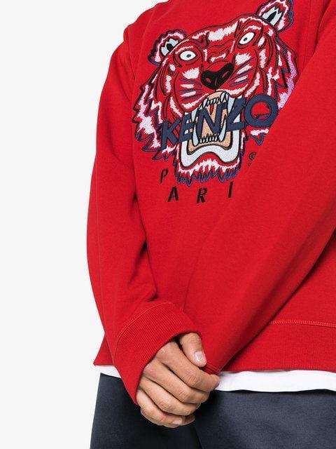 5a125a9b727c Mens KENZO Genuine Tiger Jumper Sweatshirt Sweat RRP £230 KENZO ...