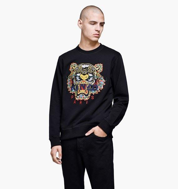 Mens KENZO Genuine Tiger Jumper Sweatshirt Sweat RRP £230 KENZO ... dd4cb010d