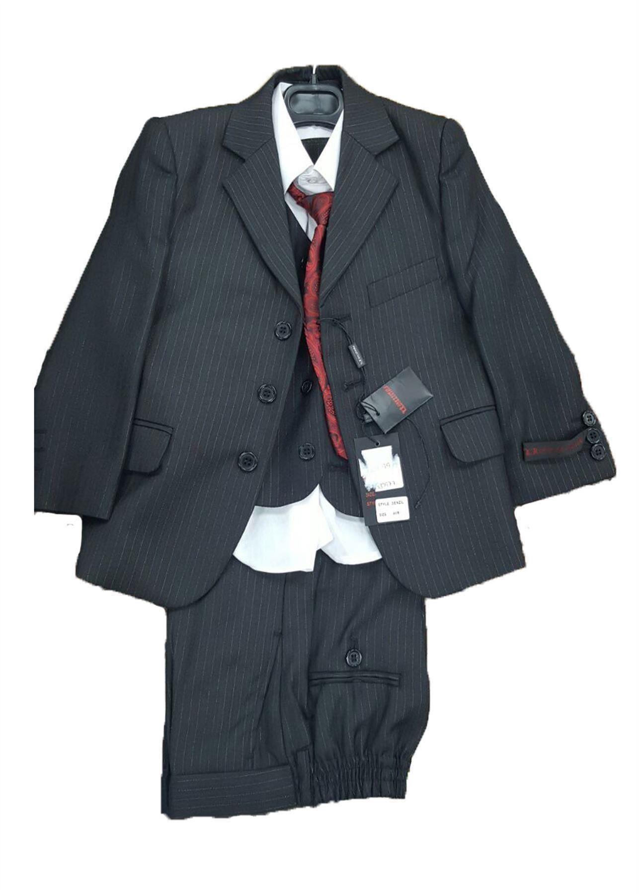 New Boys Formal Wedding Party 3/5 Piece Waistcoat Jacket