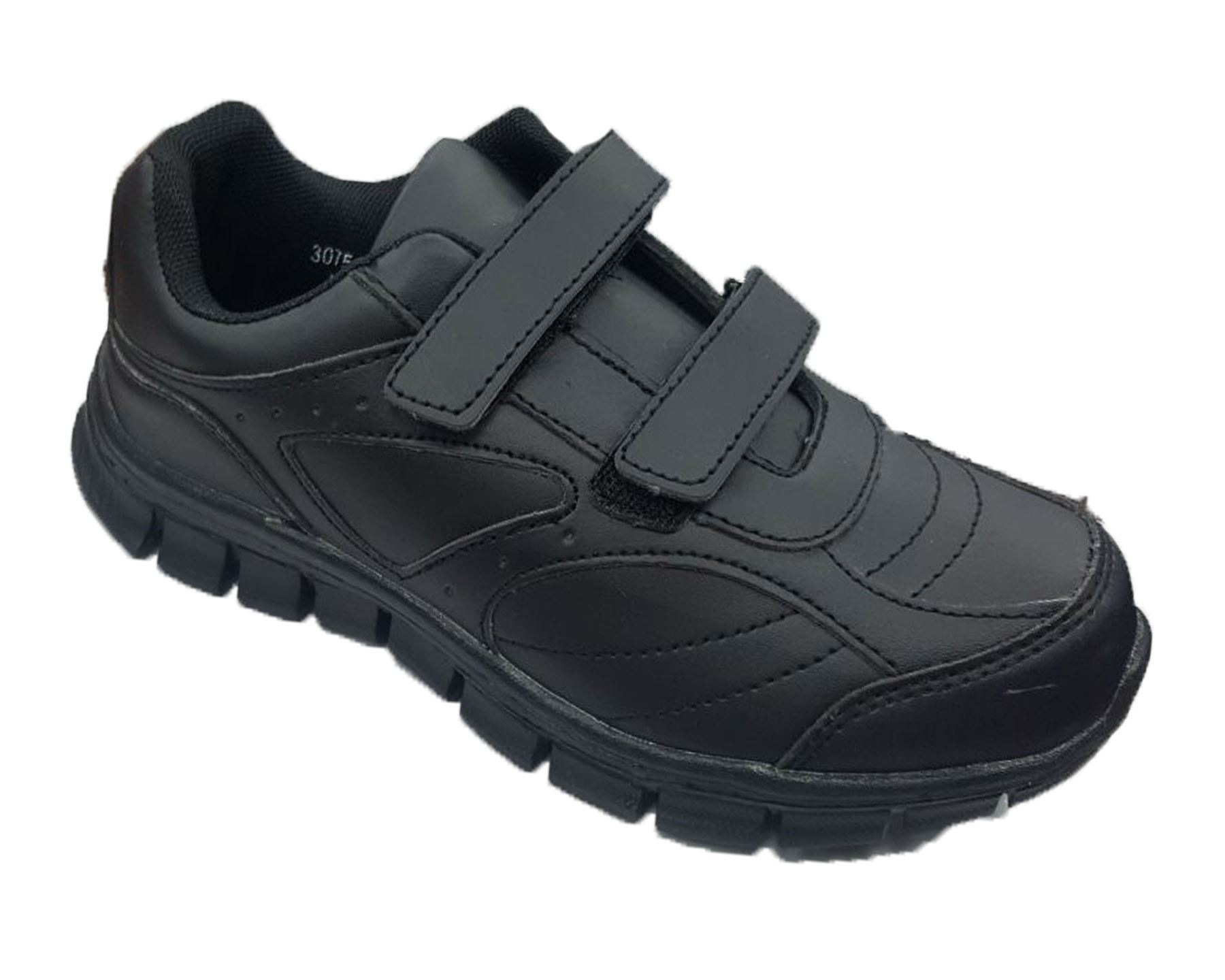 BX Team Kids Boys Back to School Formal Black Shoes Sizes 10-2 30 ... 83573897cd01
