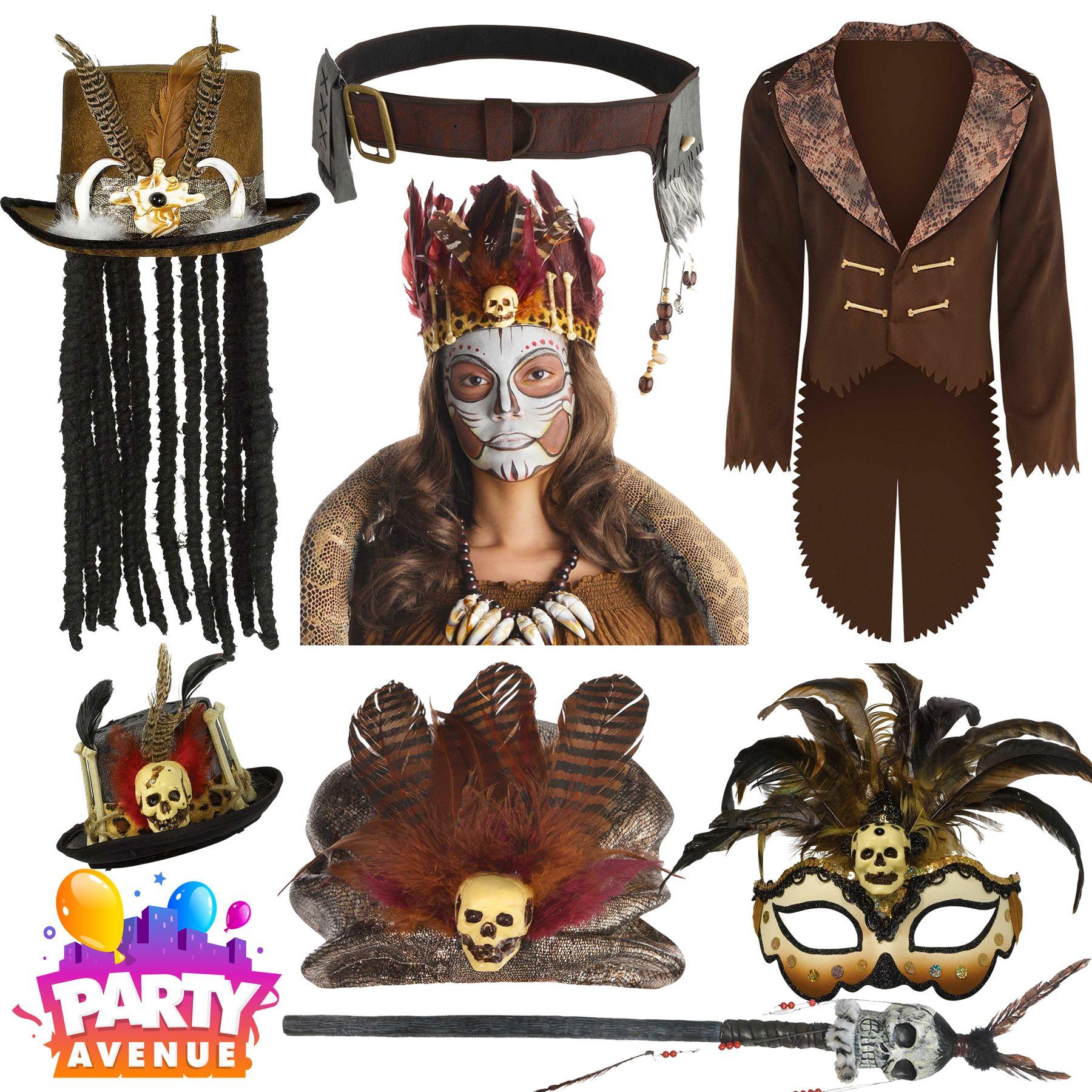 Waist Cincher Witch Doctor Voodoo Halloween Costume Accessories
