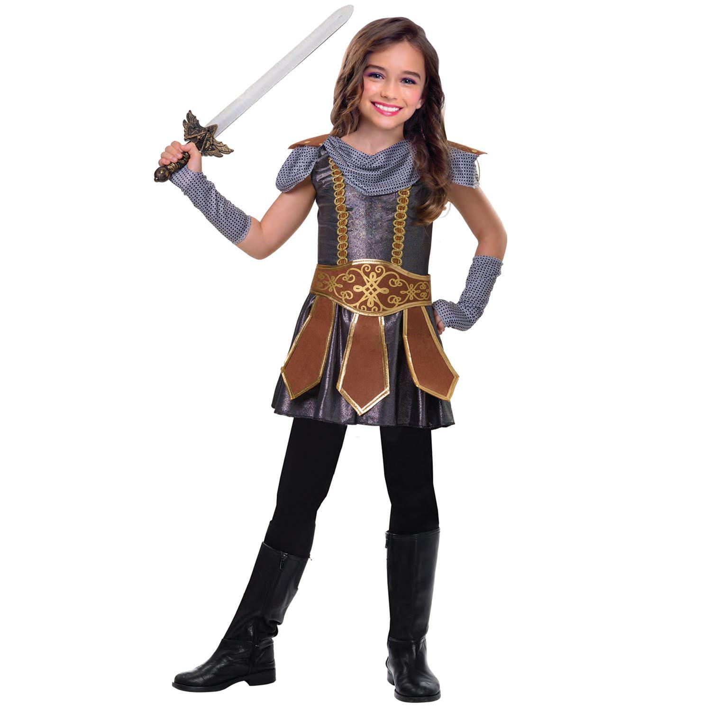 Boys Viking Warrior Costume Kids School Book Week Fancy Dress Story Outfit