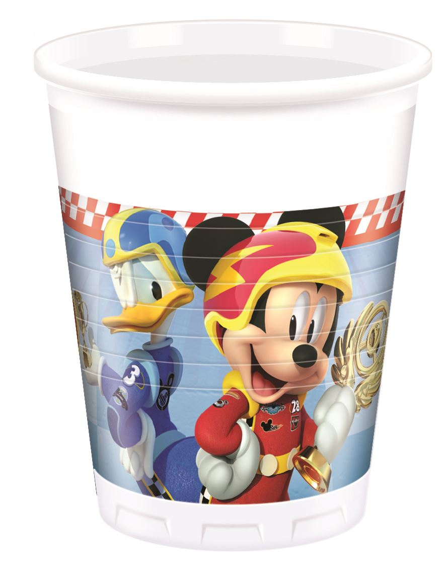 Disney-Mickey-Mouse-Party-Roadster-Racers-Birthday-Tableware-  sc 1 st  eBay & Disney Mickey Mouse Party Roadster Racers Birthday Tableware ...