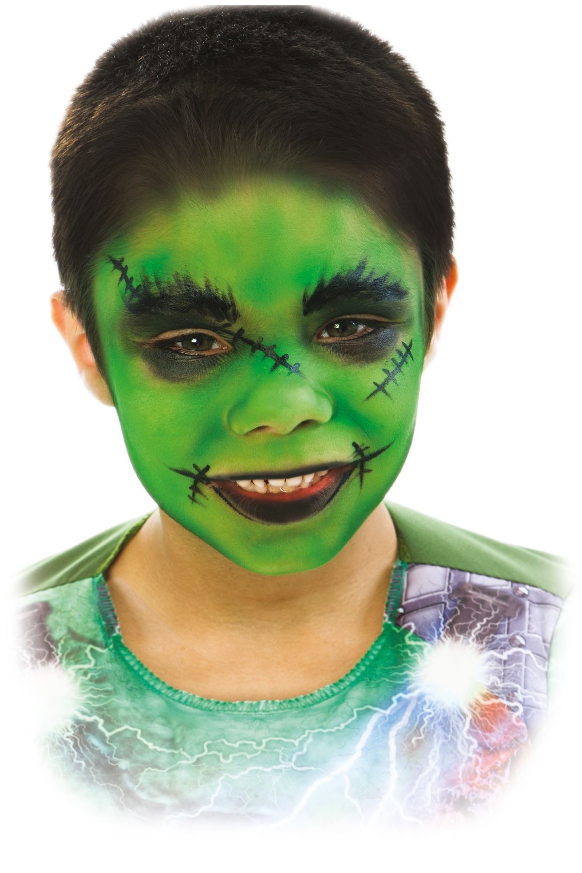 how to make a witch face for halloween