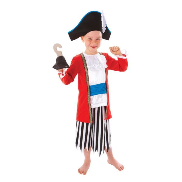 Boys-Pirate-Costumes-Fancy-Dress-Book-Week-amp-Accessories-Lot thumbnail 7