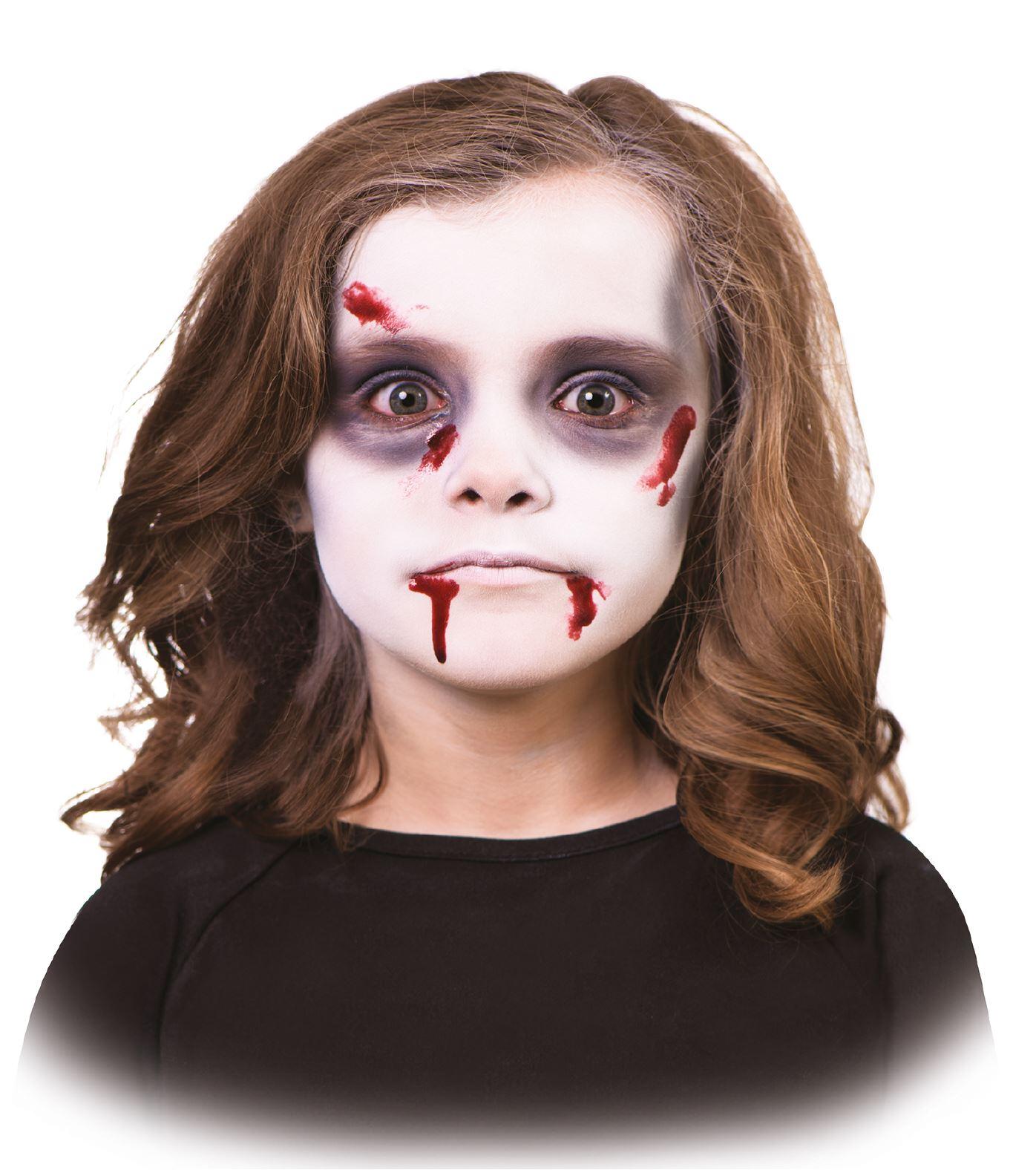 Halloween Party Horro Zombie Face Paint 5 Piece Kit Fancy Dress ...